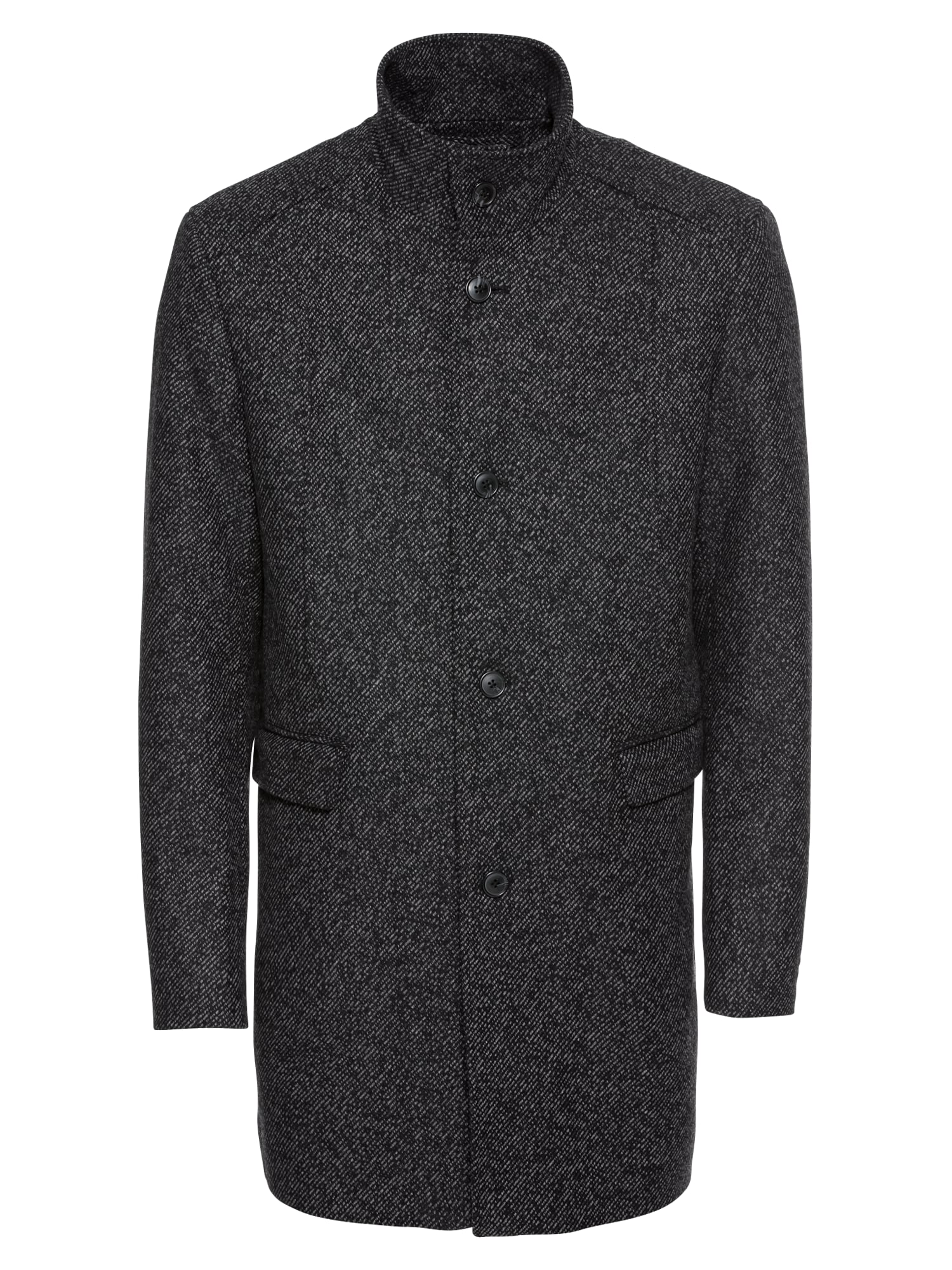 Přechodný kabát černá SELECTED HOMME