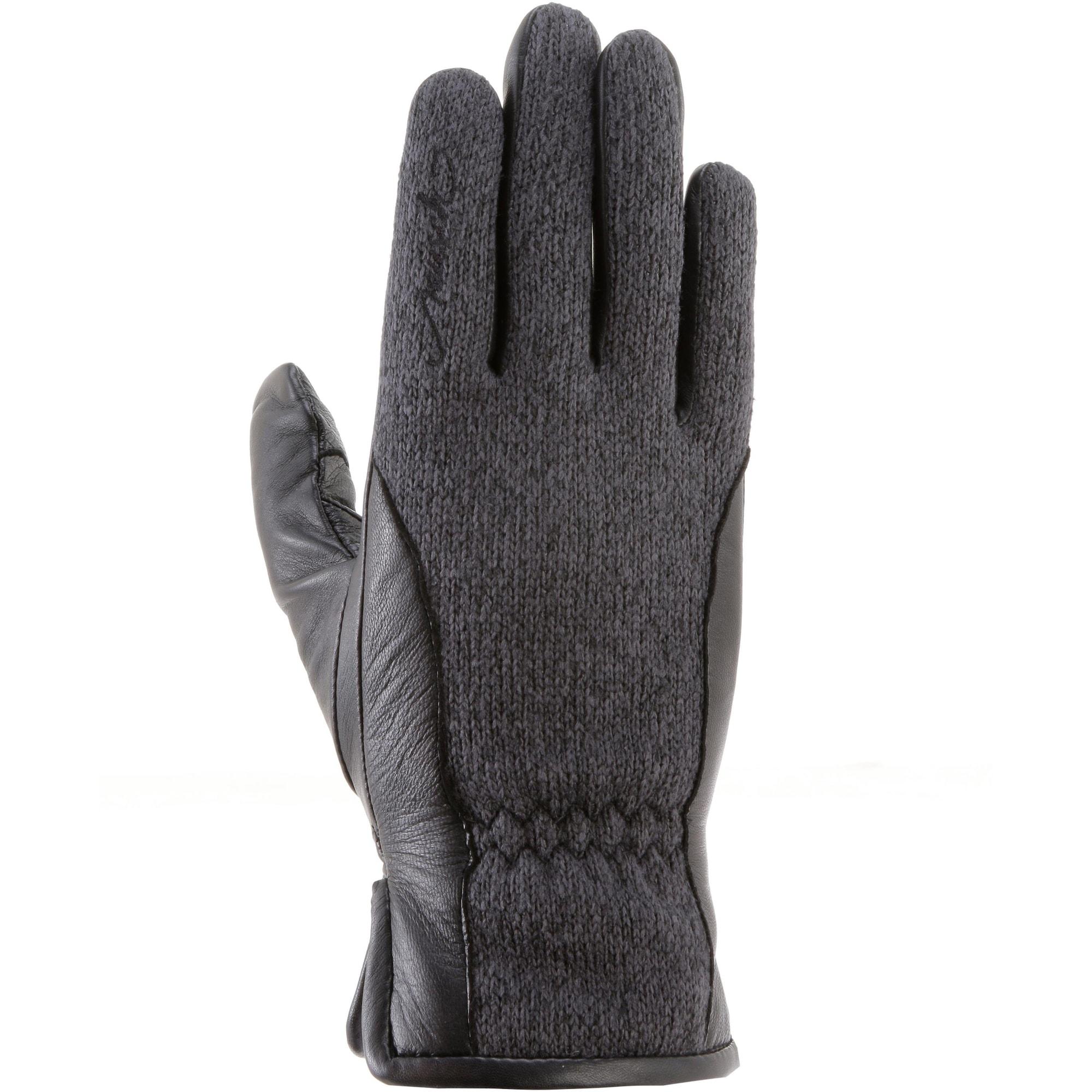 Fingerhandschuhe 'VERONA' | Accessoires > Handschuhe | Dunkelgrau - Schwarz | REUSCH
