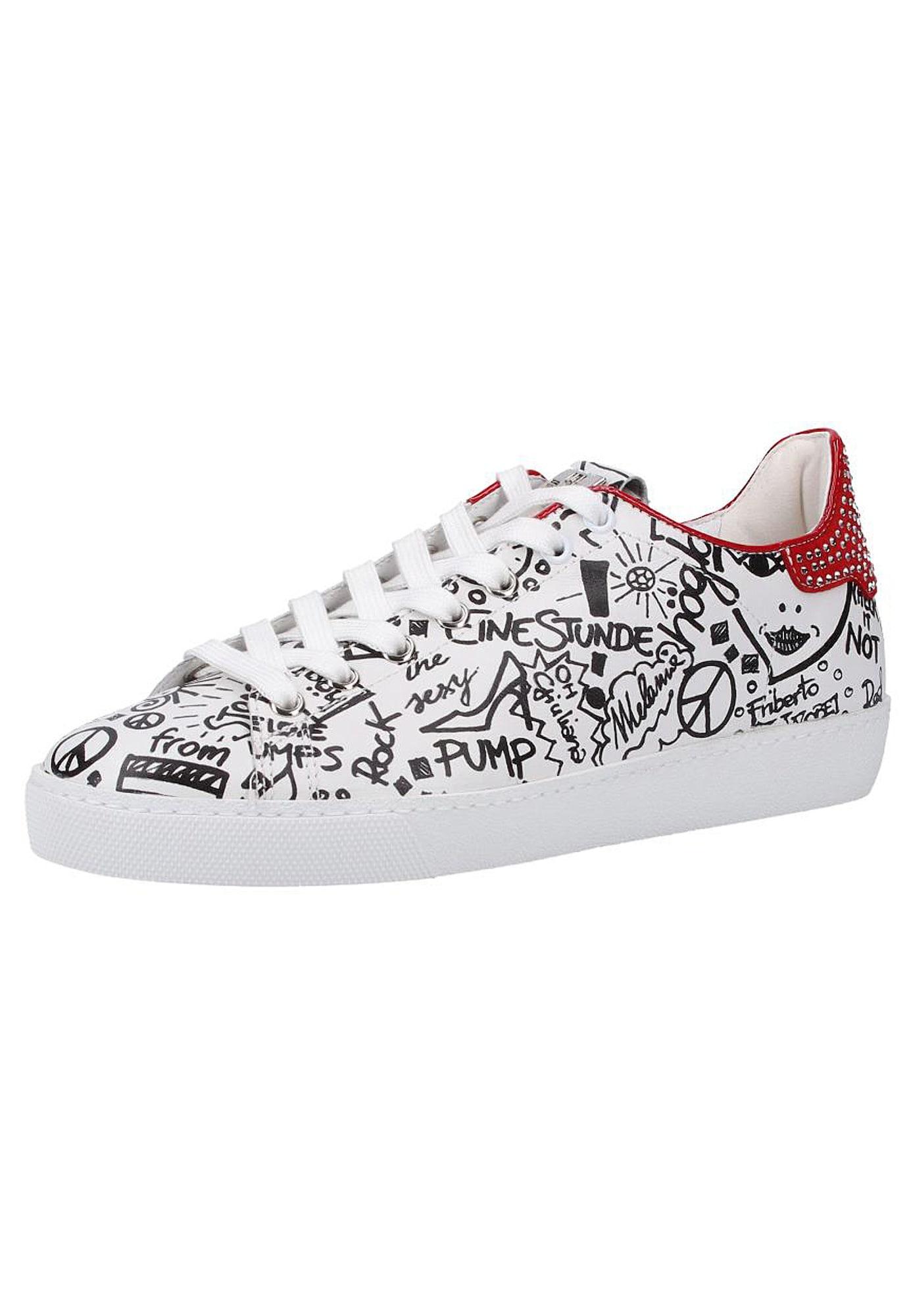 Sneaker | Schuhe > Sneaker > Sneaker | Rot - Schwarz - Silber - Weiß | Högl