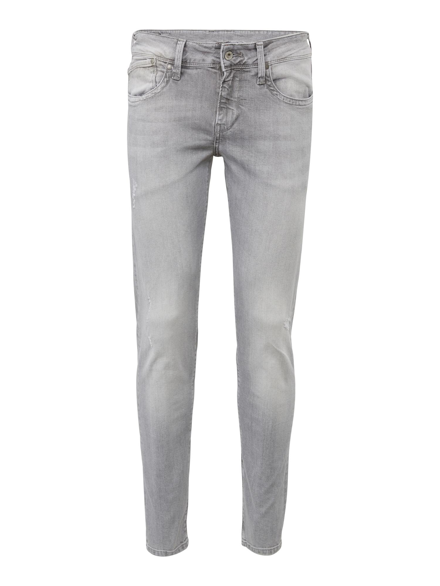 Pepe Jeans Heren Jeans Hatch grey denim