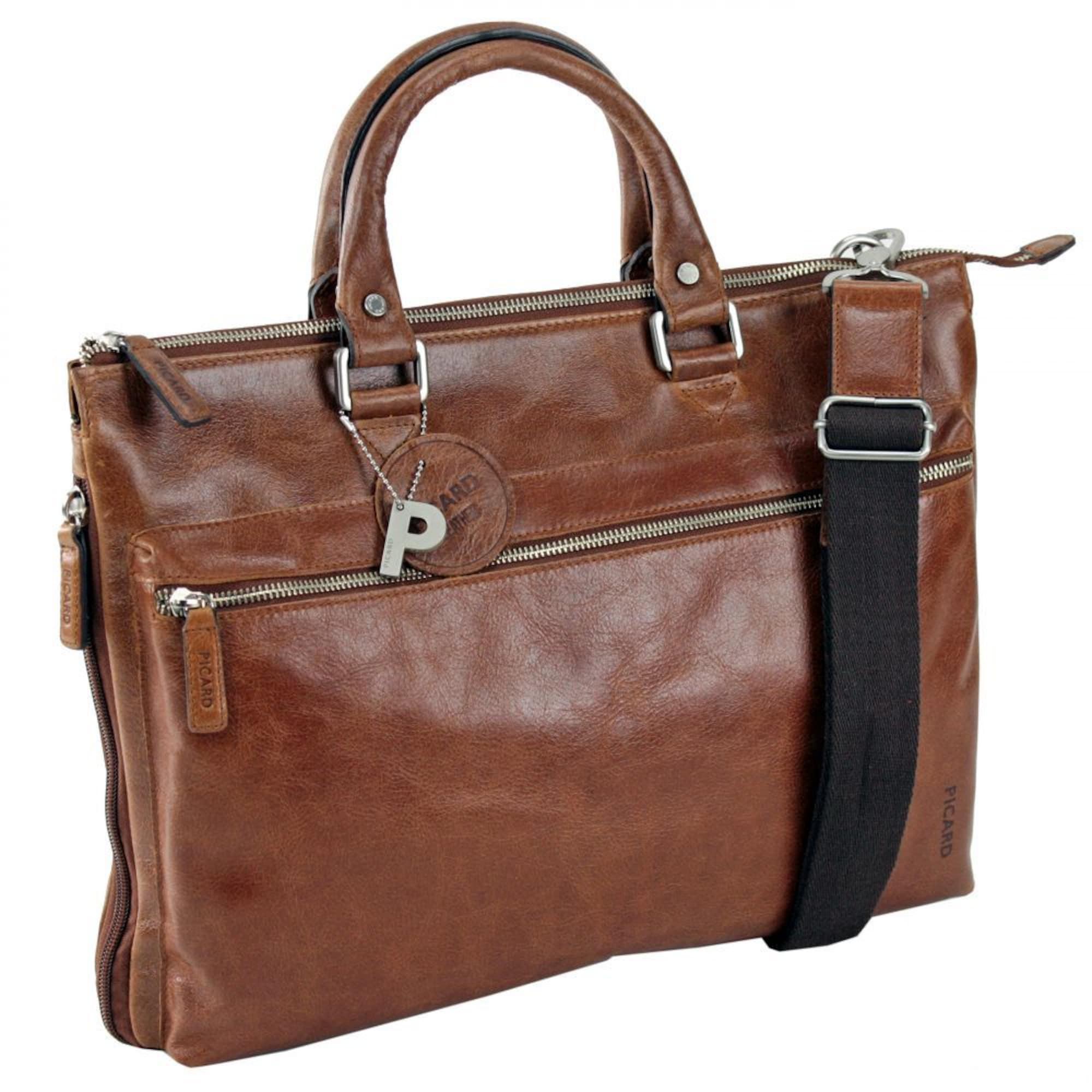 Buddy Business-Tasche Leder  41 cm | Taschen > Business Taschen > Sonstige Businesstaschen | Cognac | Picard