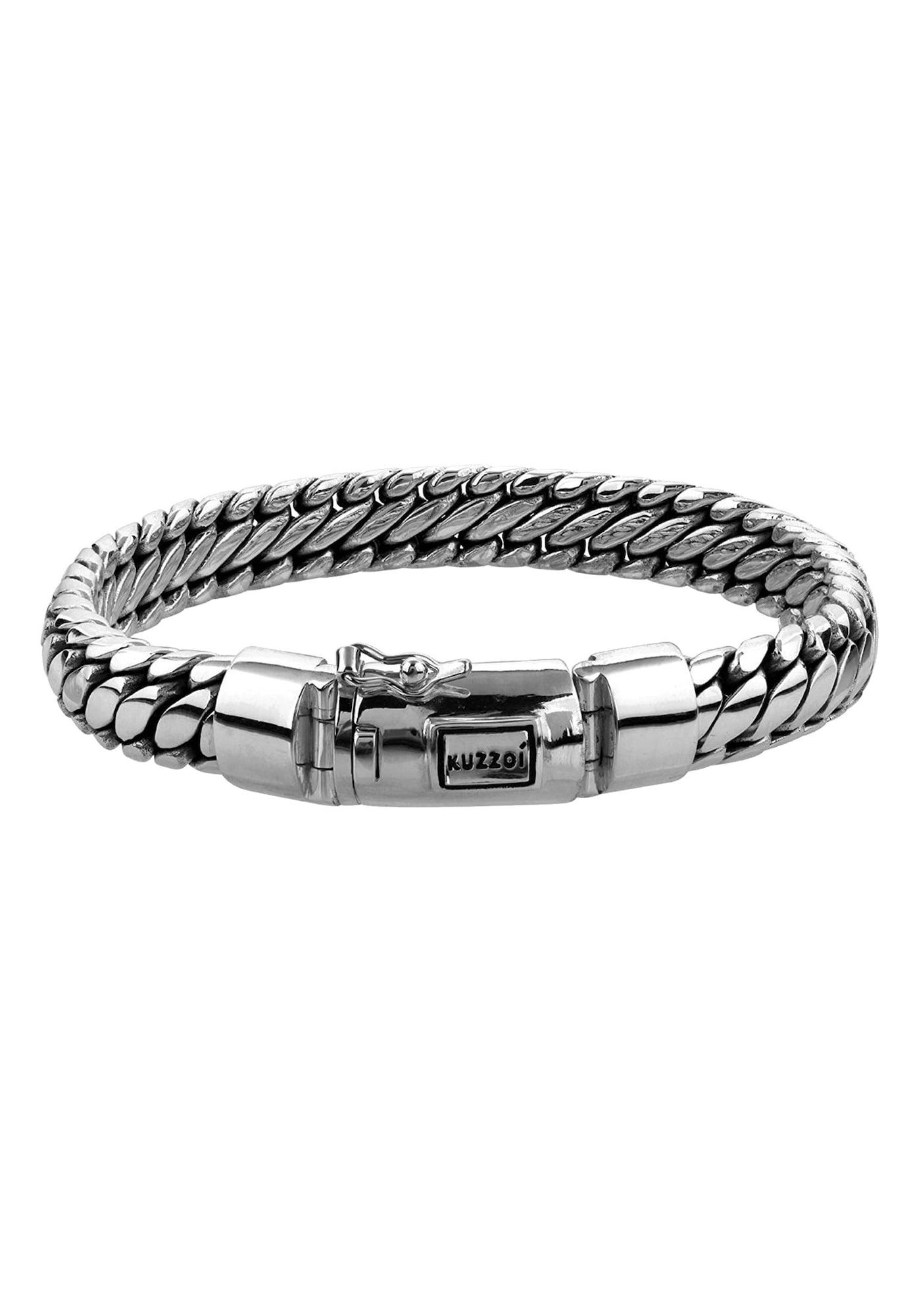 Armband 'Twisted' | Schmuck > Armbänder | Silber | KUZZOI