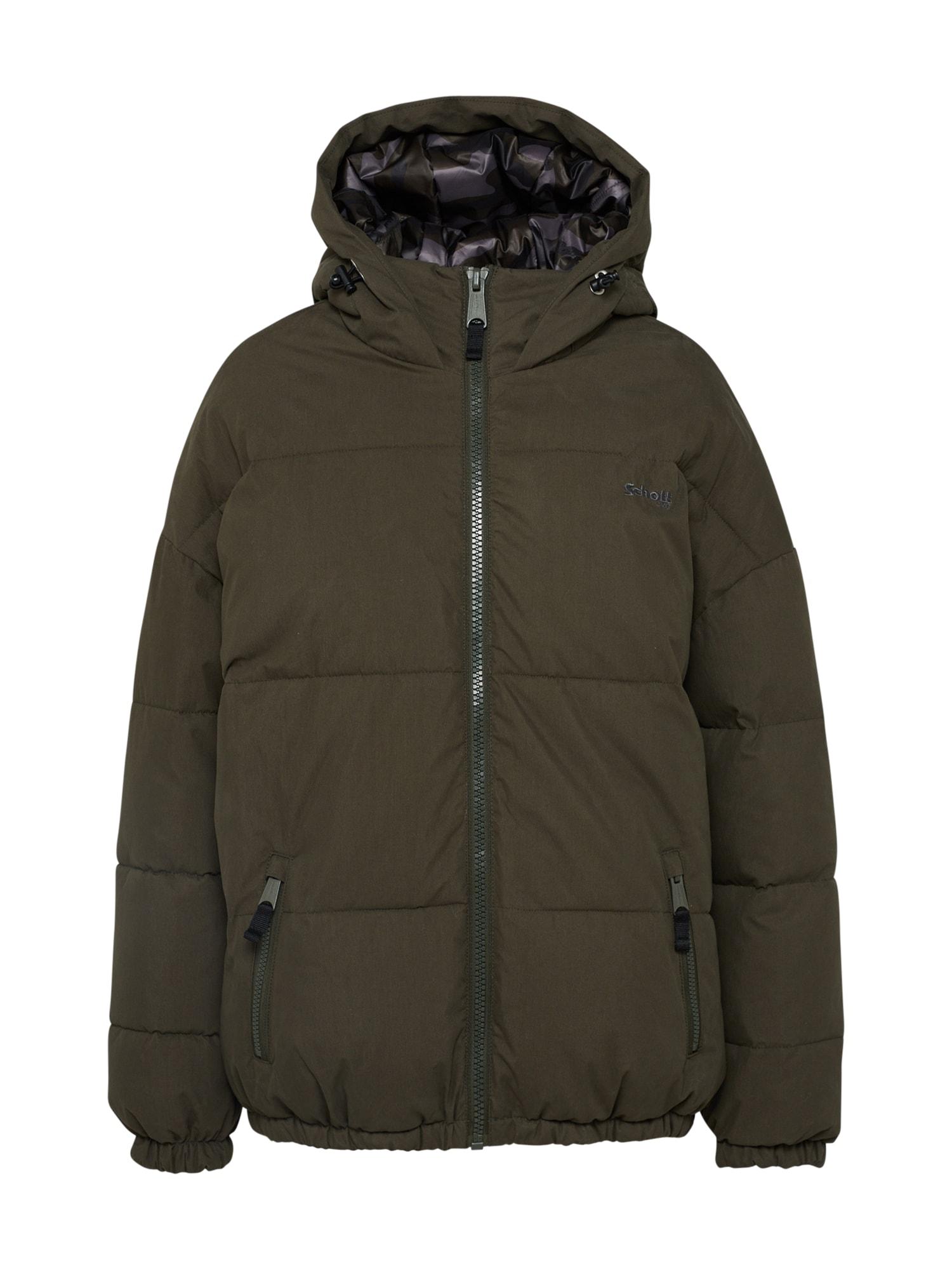 Zimní bunda JKT Alaska khaki Schott NYC