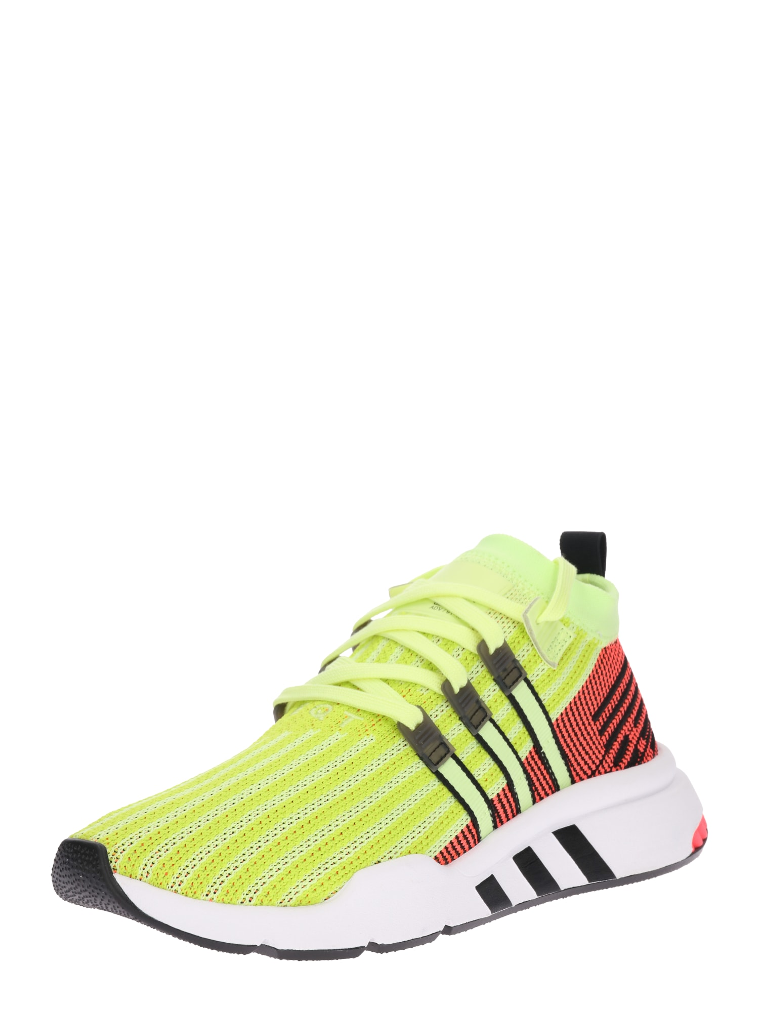 ADIDAS ORIGINALS, Sneakers laag 'EQT SUPPORT', geel / rood