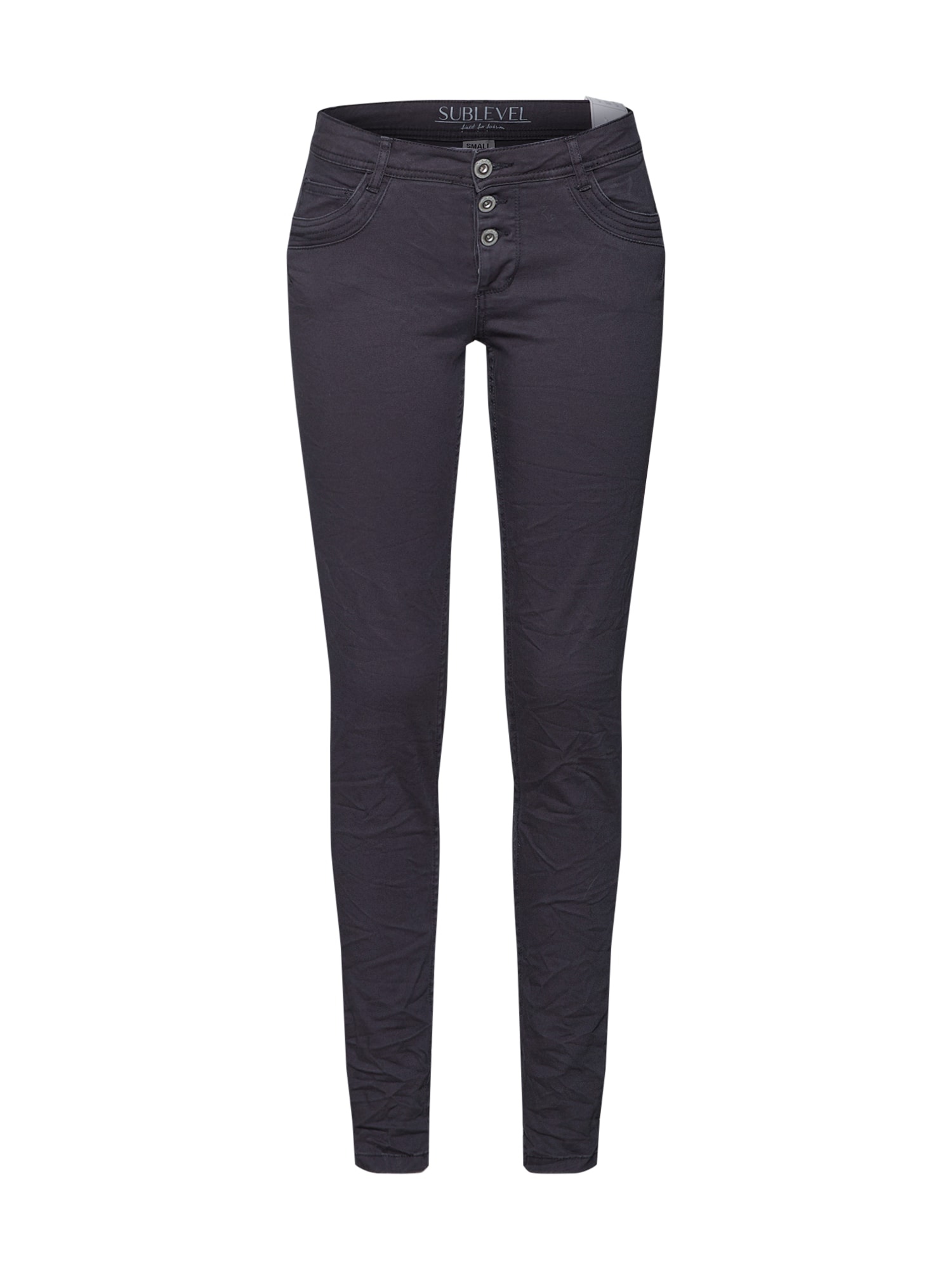 Kalhoty Ladies trousers antracitová Sublevel