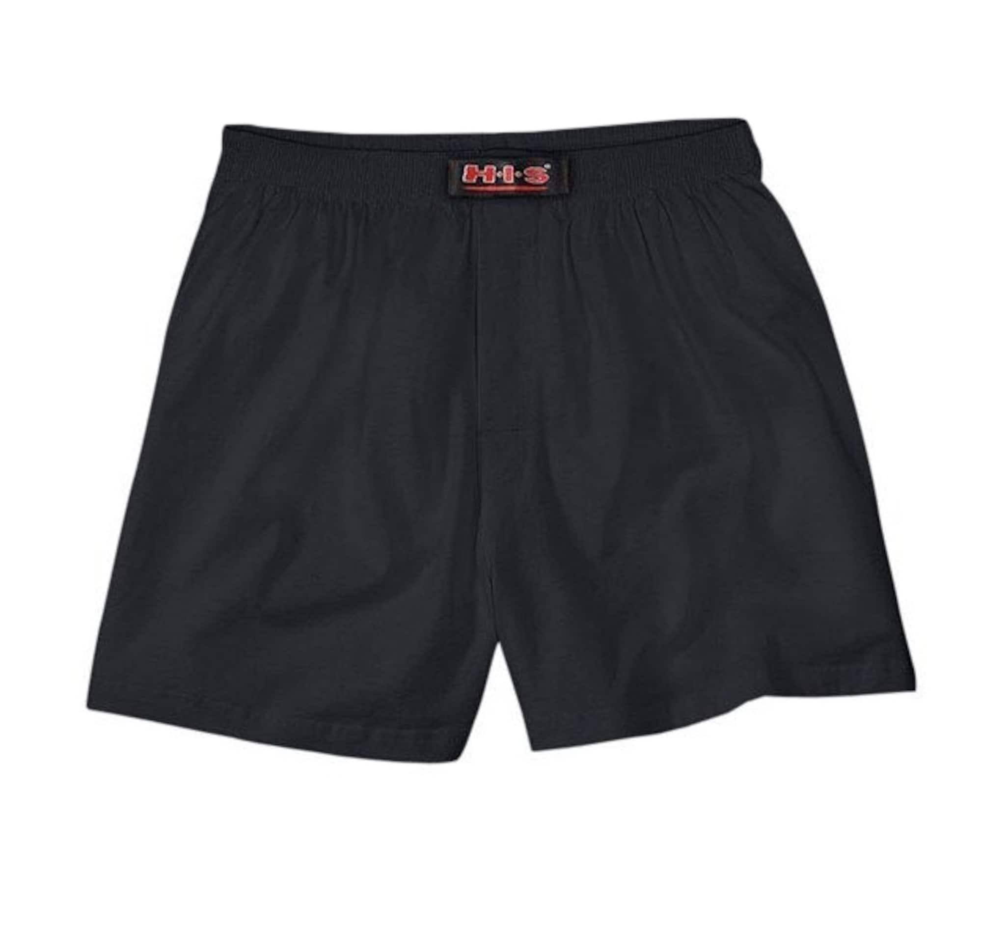 H.I.S, Heren Boxershorts, zwart