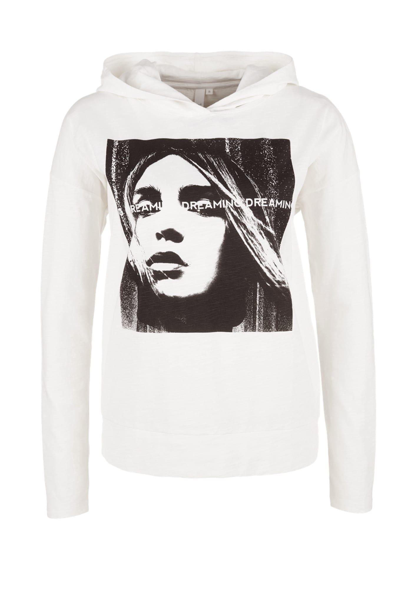 Kapuzenshirt | Bekleidung > Shirts > Kapuzenshirts | Weiß | Q/S Designed By