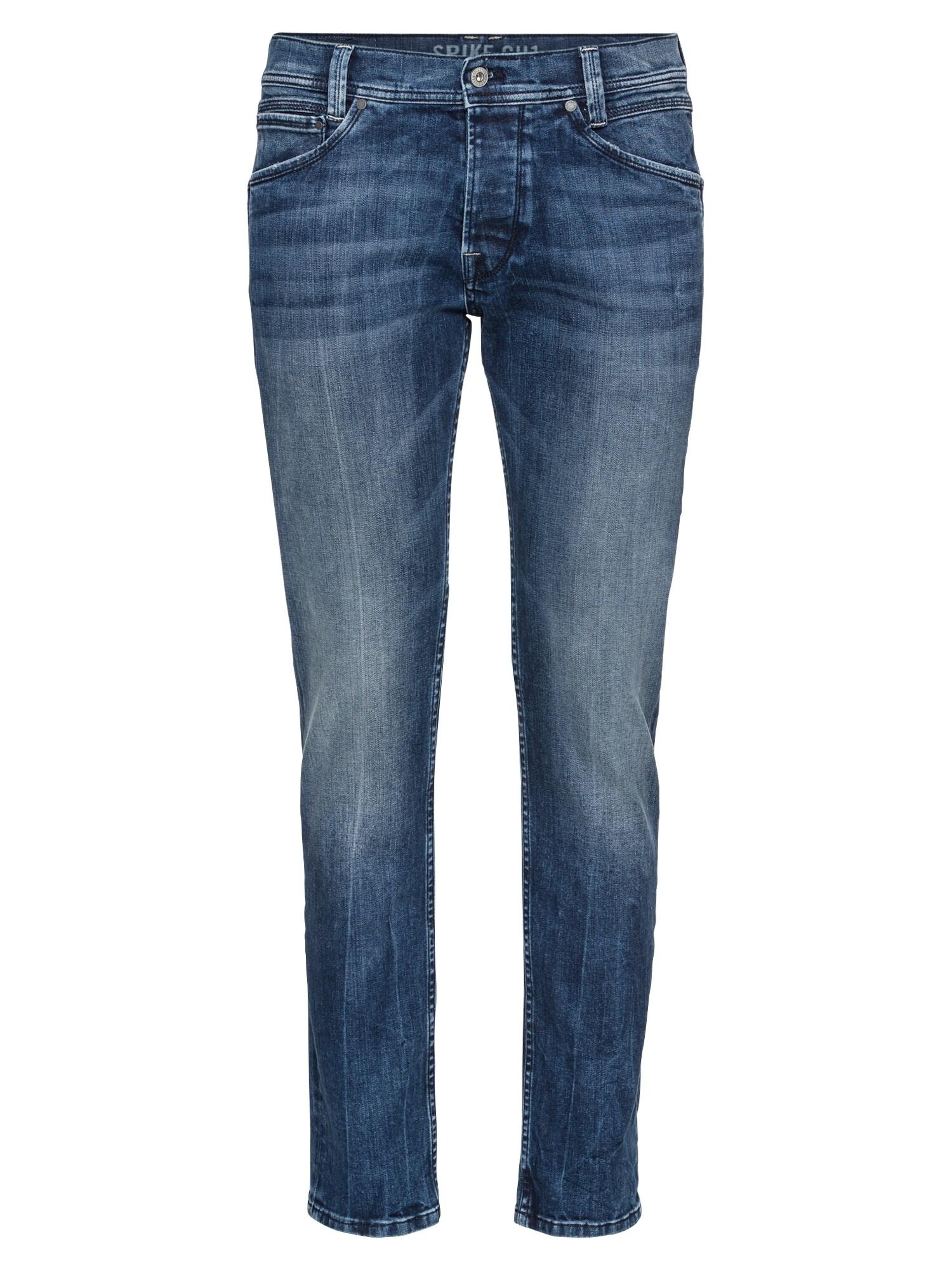 Pepe Jeans Heren Jeans Spike blue denim