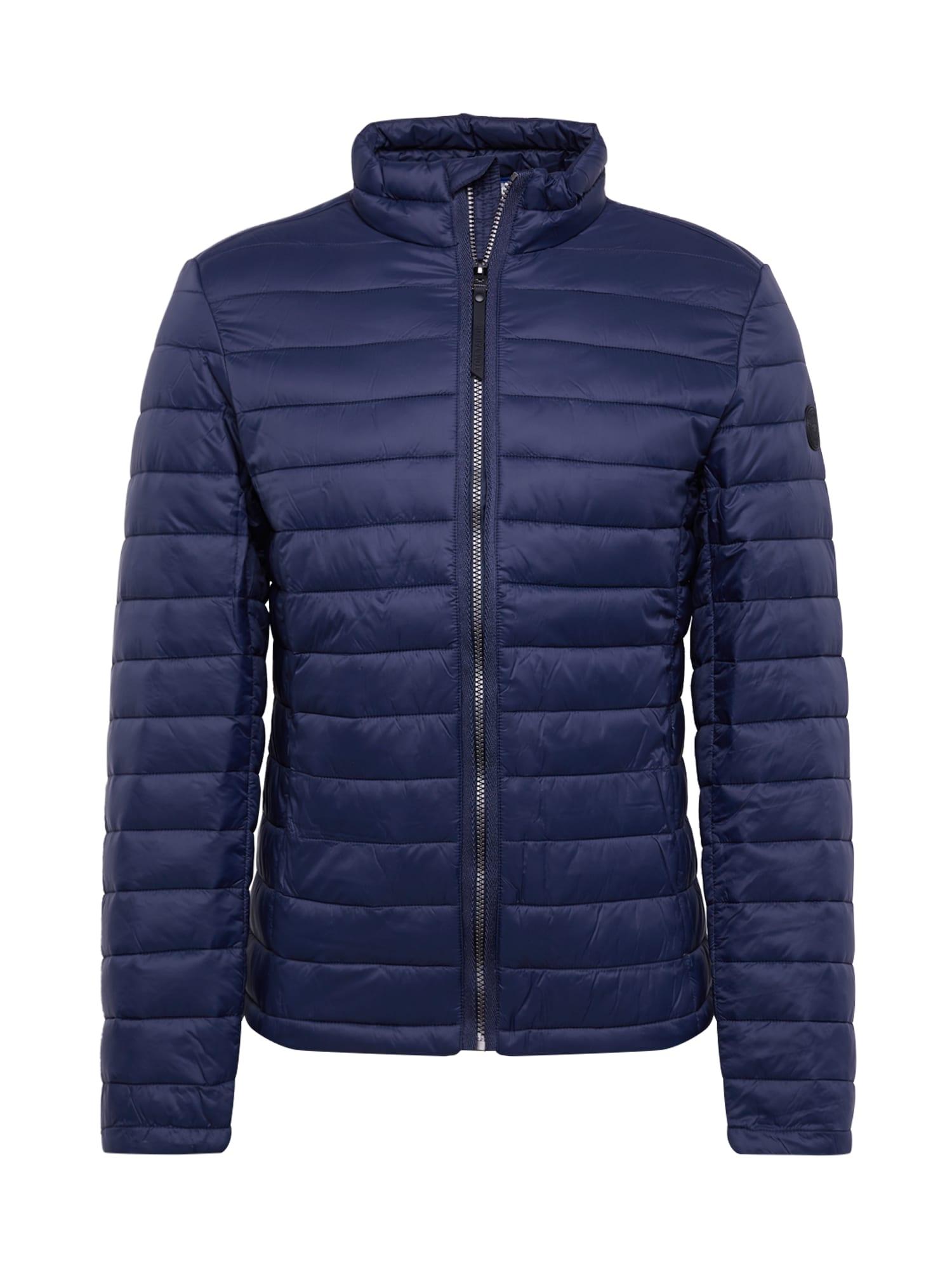 TOM TAILOR Zimní bunda 'light weight jacket'  tmavě modrá