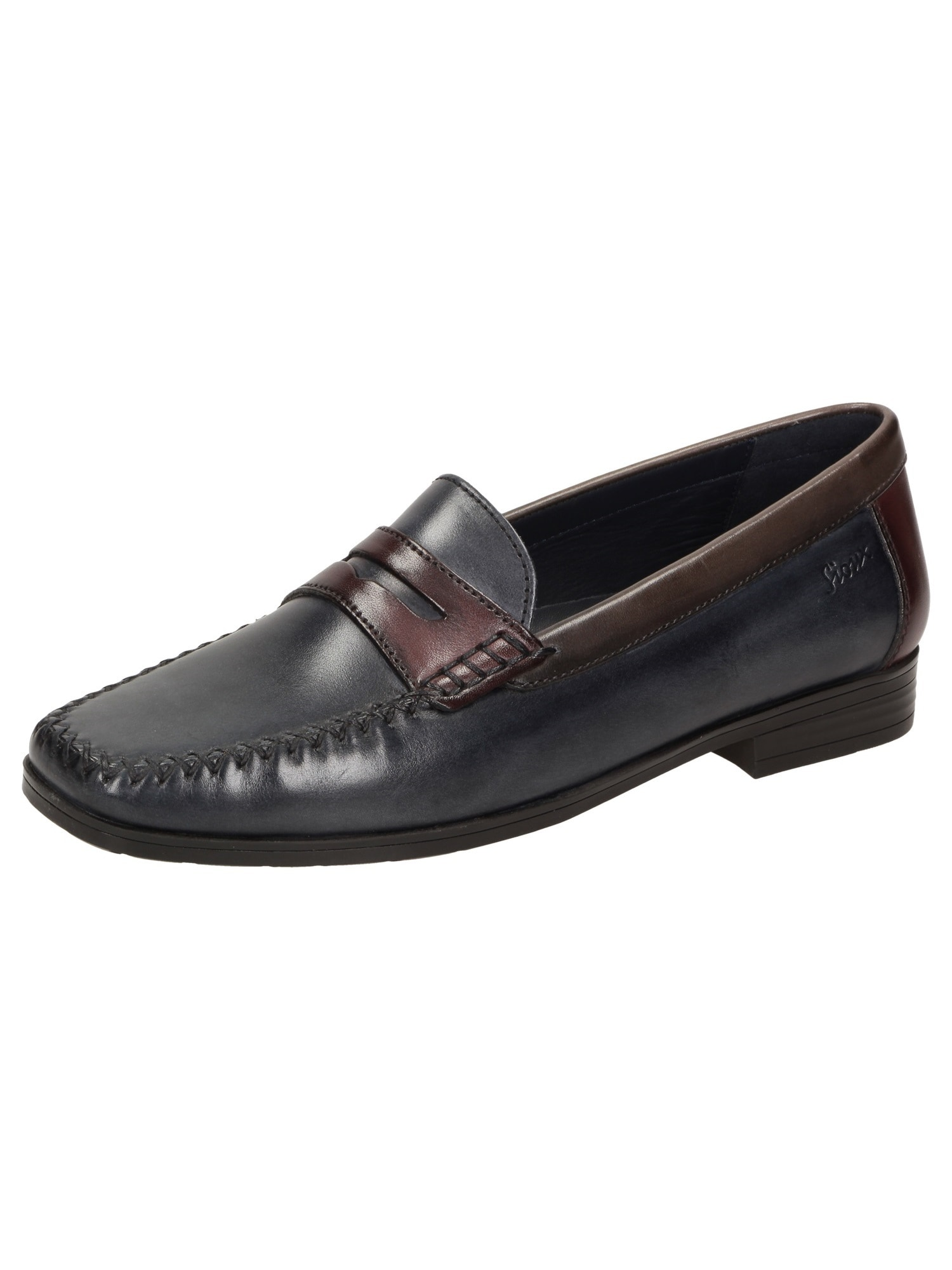 Mokassin 'Cortizia' | Schuhe > Mokassins | Braun - Schwarz | SIOUX