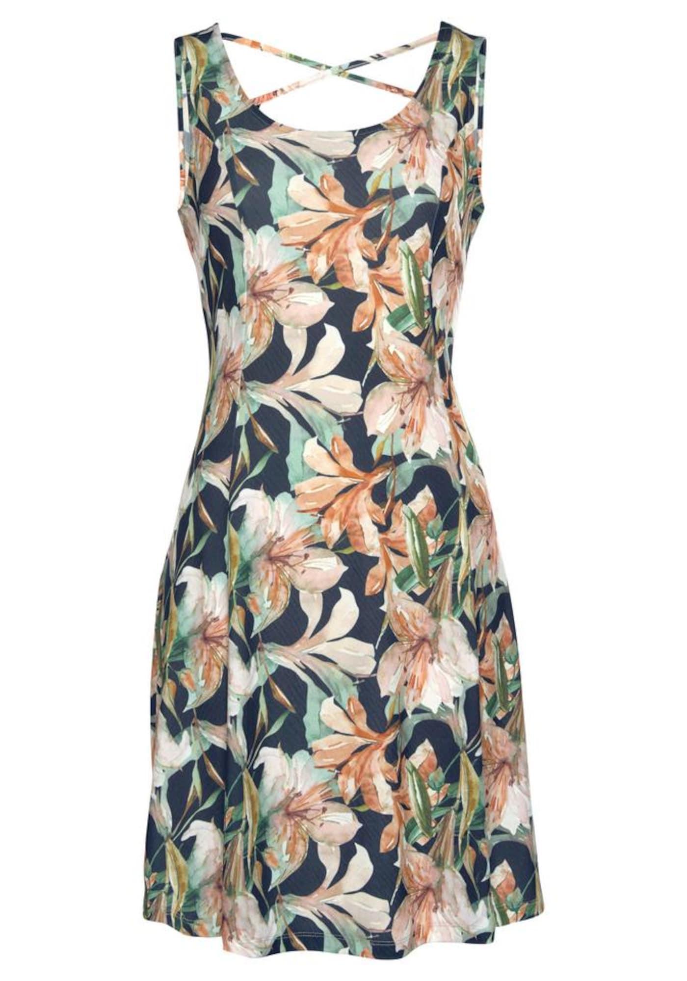 Strandkleid | Bekleidung > Kleider > Strandkleider | Pastellgrün - Rosa | Lascana