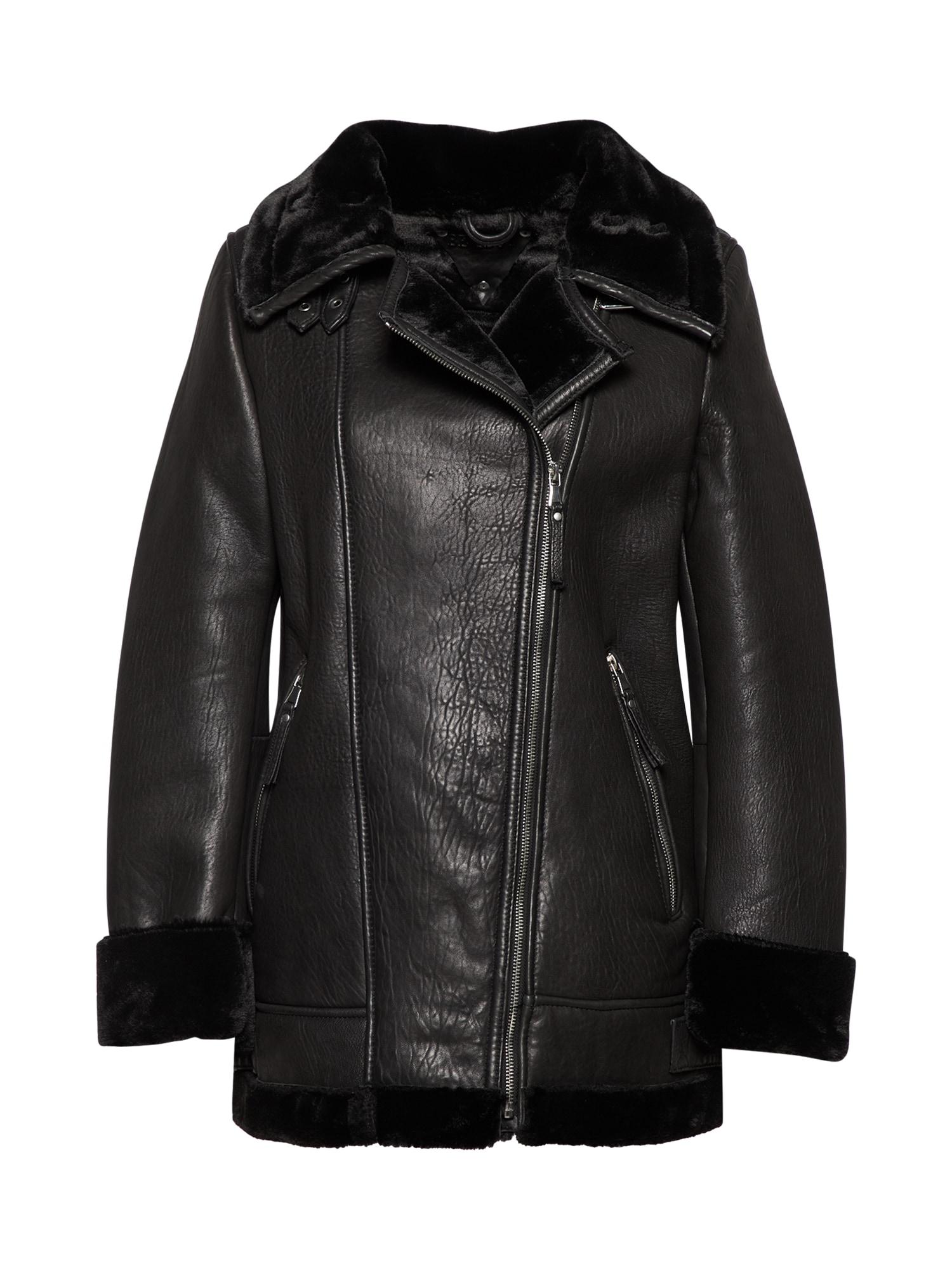 Zimní bunda ariana černá BE EDGY