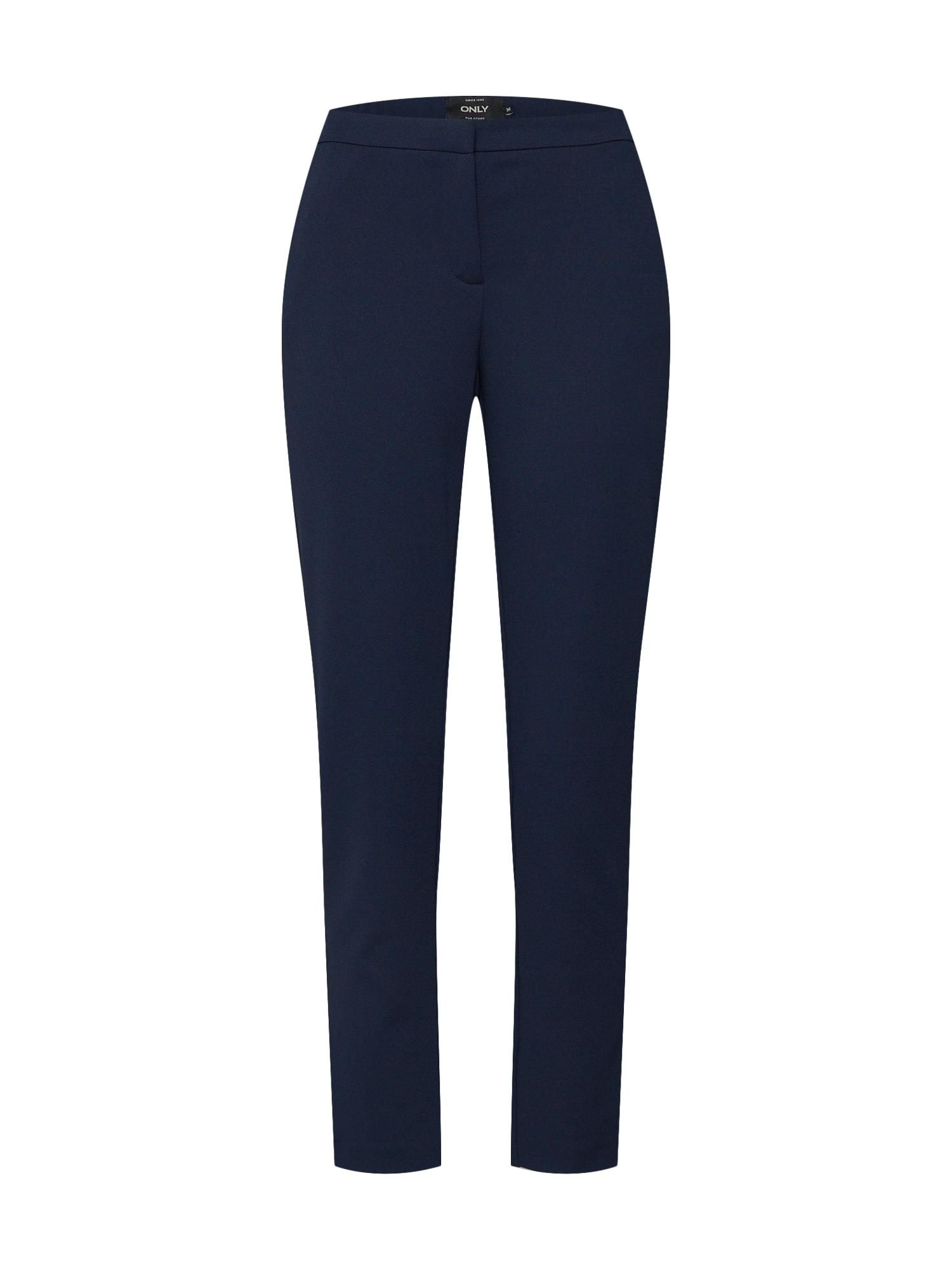 Kalhoty onlCAROLINA CIGARETTE PANTS CC TLR noční modrá ONLY