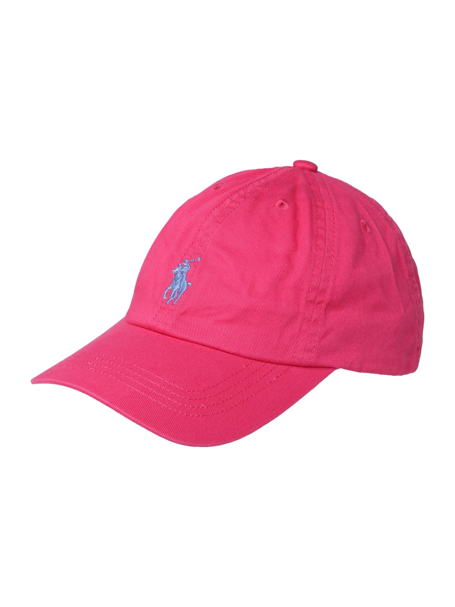 Klobouk CHINO-CHINO BB HAT-AC-HAT pink POLO RALPH LAUREN