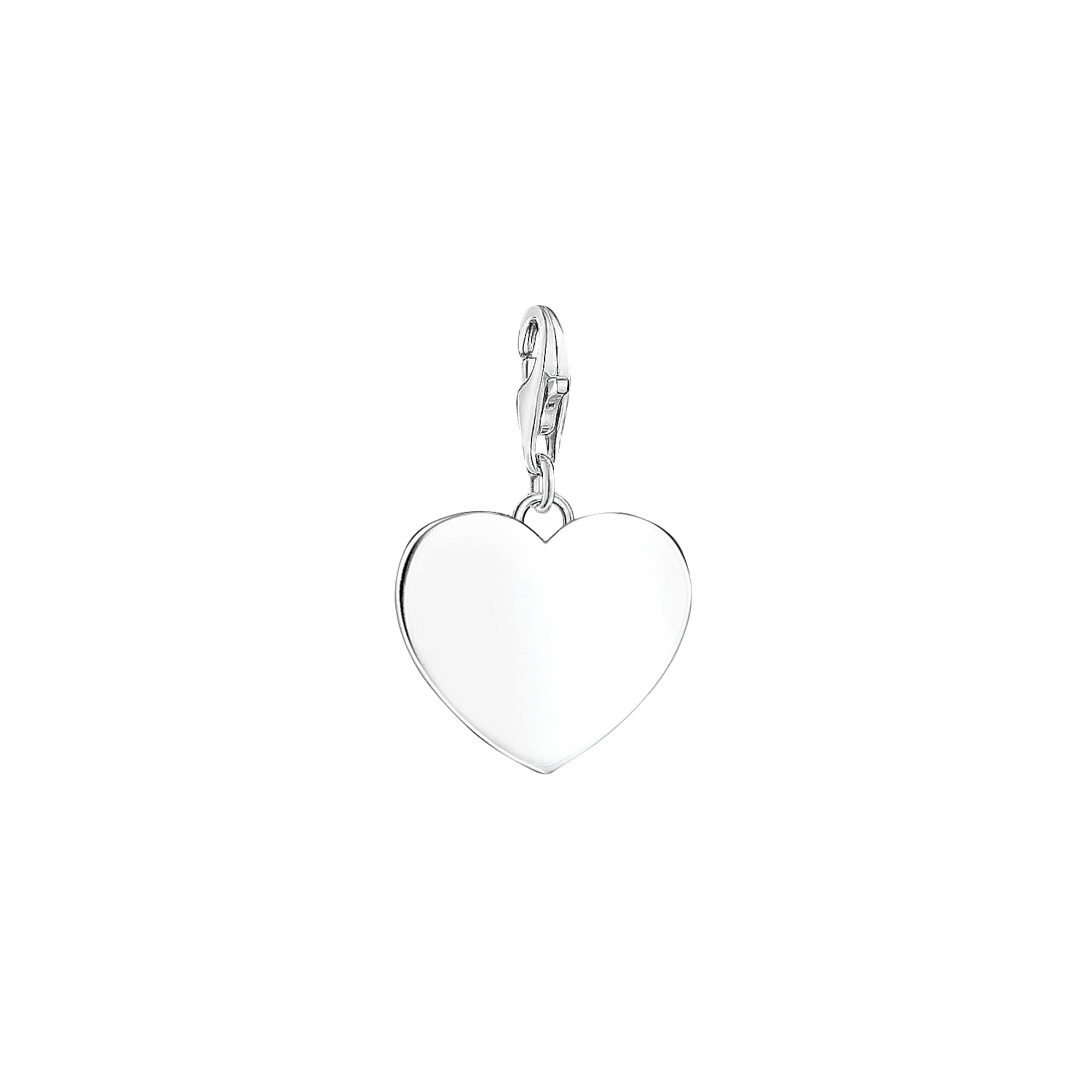 Charm-Anhänger 'Herz' | Schmuck > Halsketten > Herzketten | Silber | Thomas Sabo