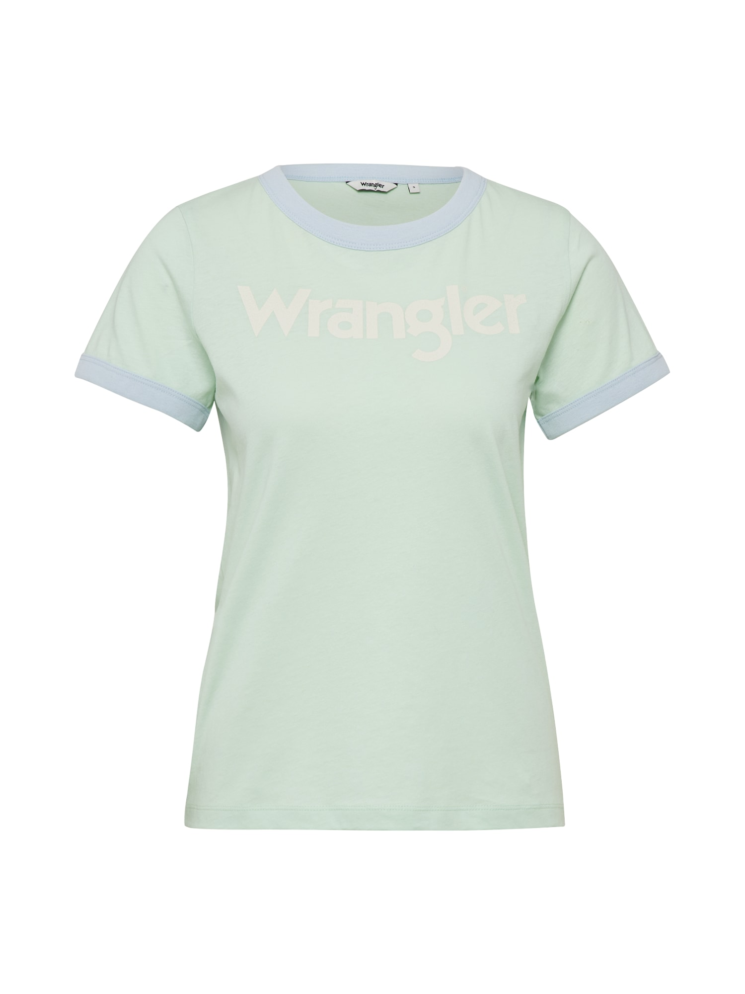 WRANGLER Dames Shirt RETRO KABEL groen