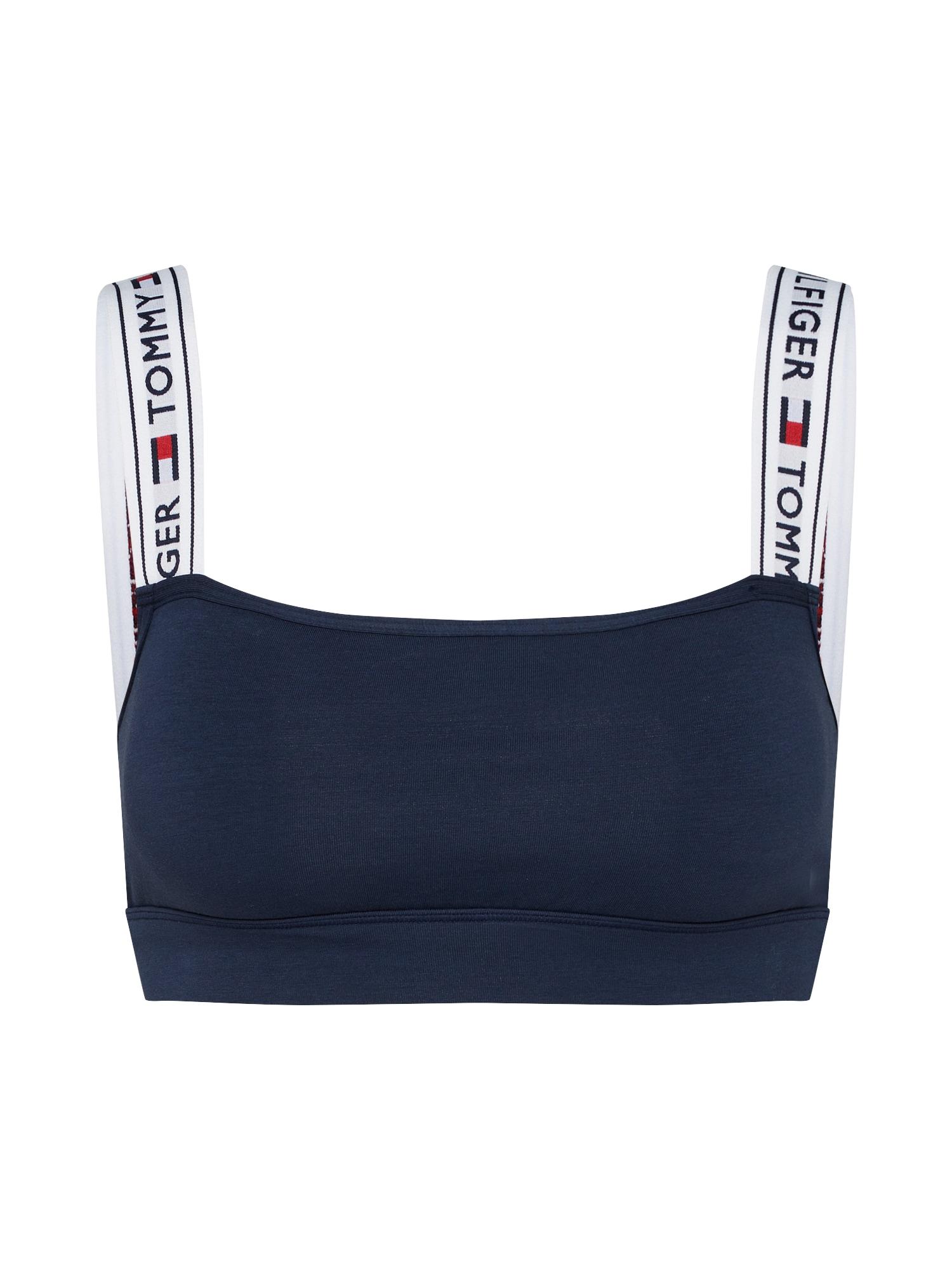Podprsenka námořnická modř bílá Tommy Hilfiger Underwear