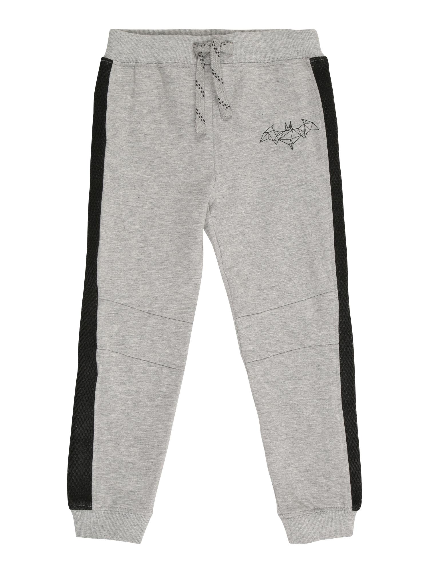 NAME IT Kalhoty 'BATMAN TOBY'  šedý melír