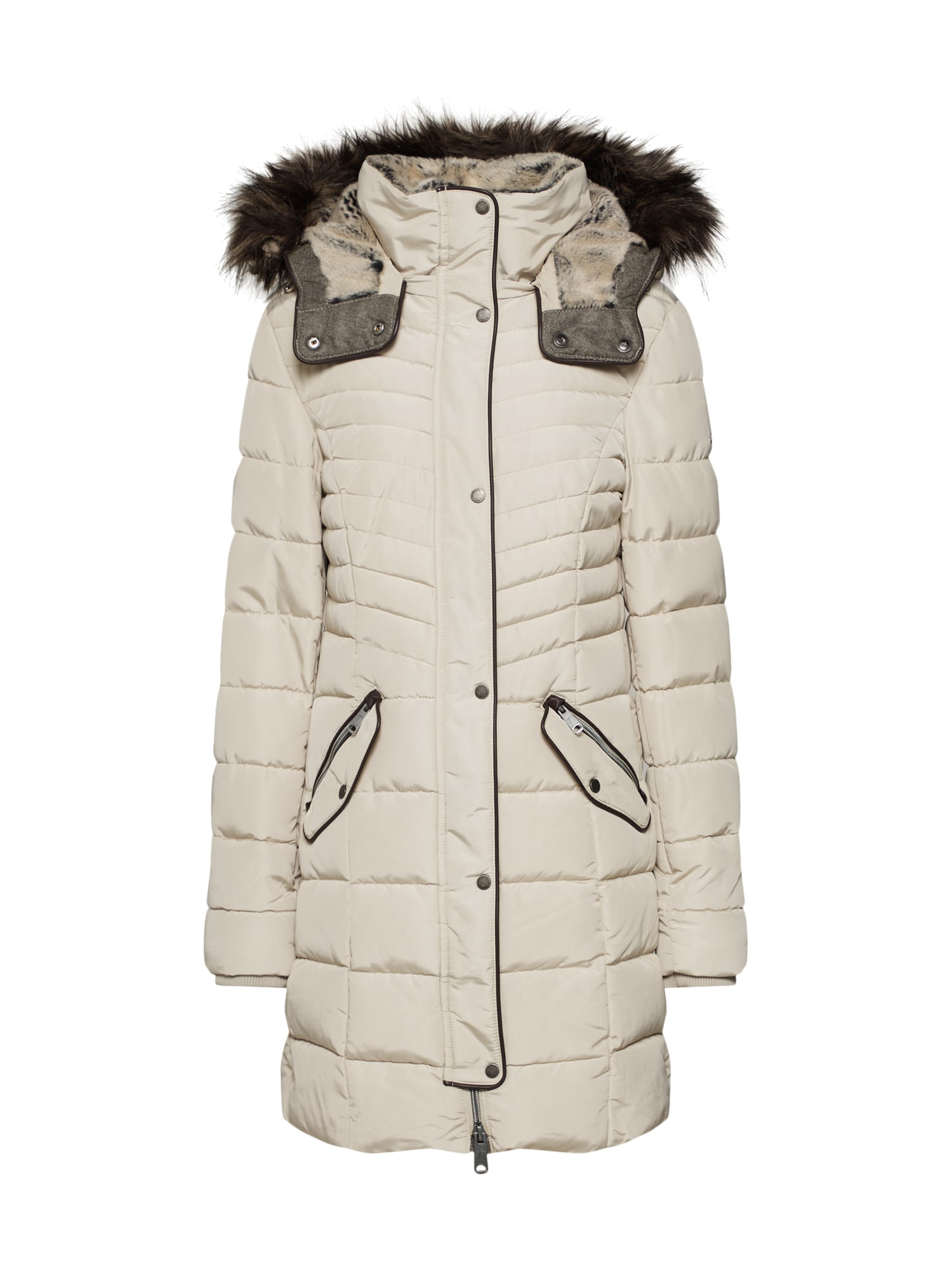 Zimní kabát béžová TOM TAILOR