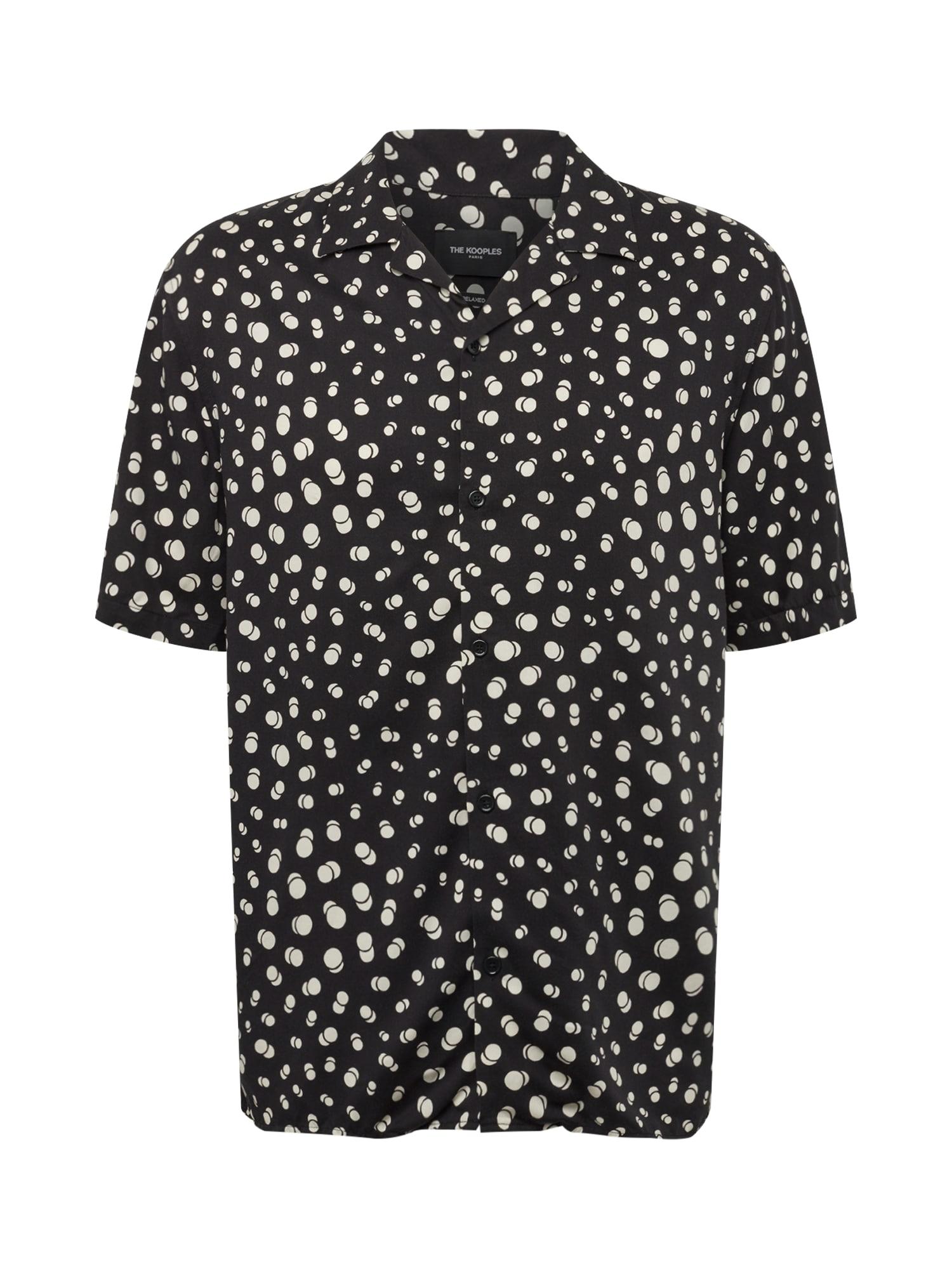 Košile CHEMISE černá bílá The Kooples