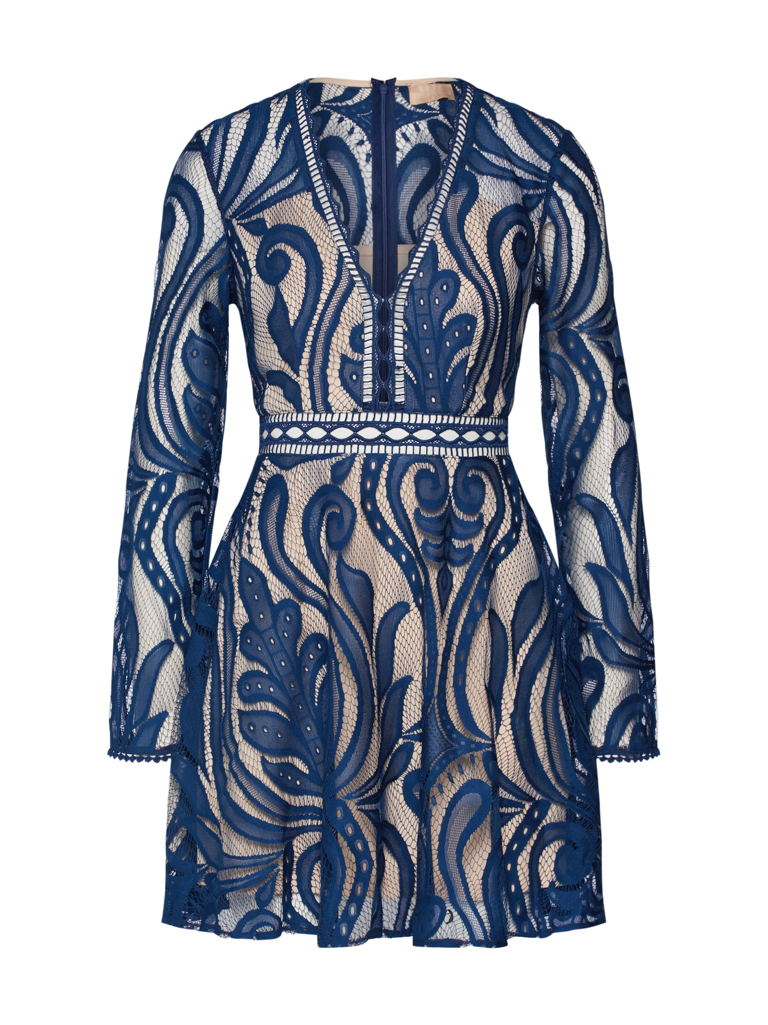 Love Triangle Koktejlové šaty 'Tempestuous Dress'  námořnická modř