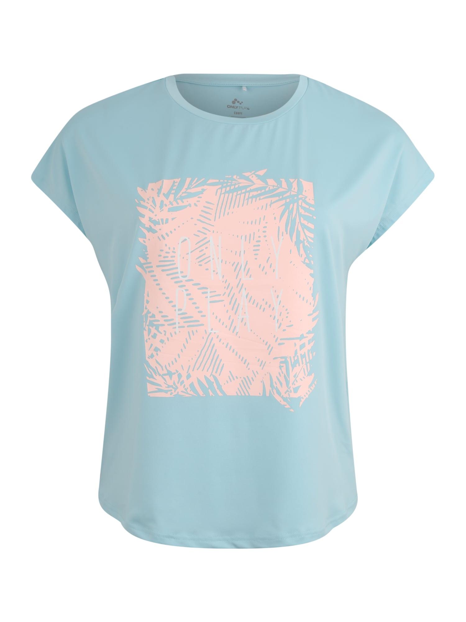 Funkční tričko MARLEE světlemodrá růžová Only Play Curvy