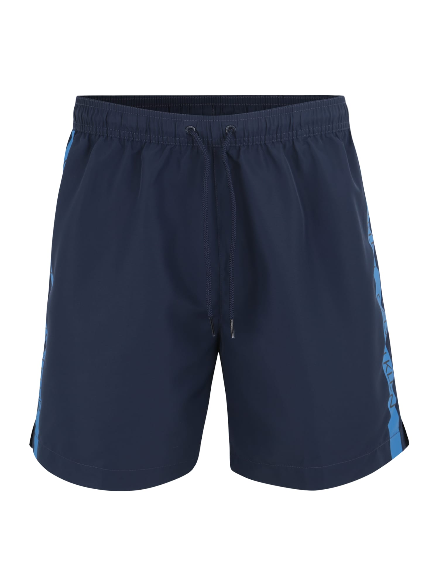 Plavecké šortky MEDIUM DRAWSTRING tmavě modrá Calvin Klein Swimwear