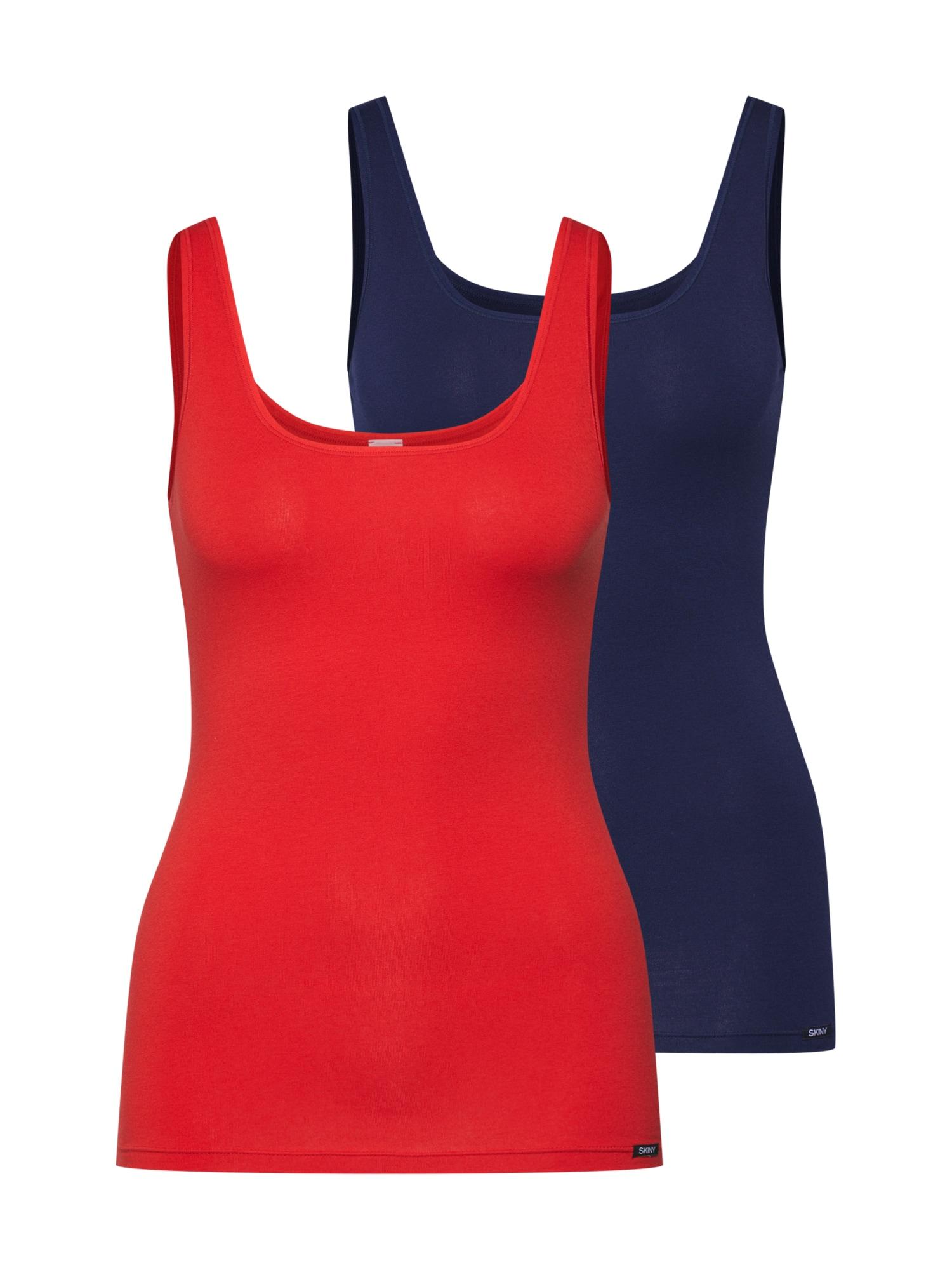 Tílko Advantage Cotton modrá červená Skiny