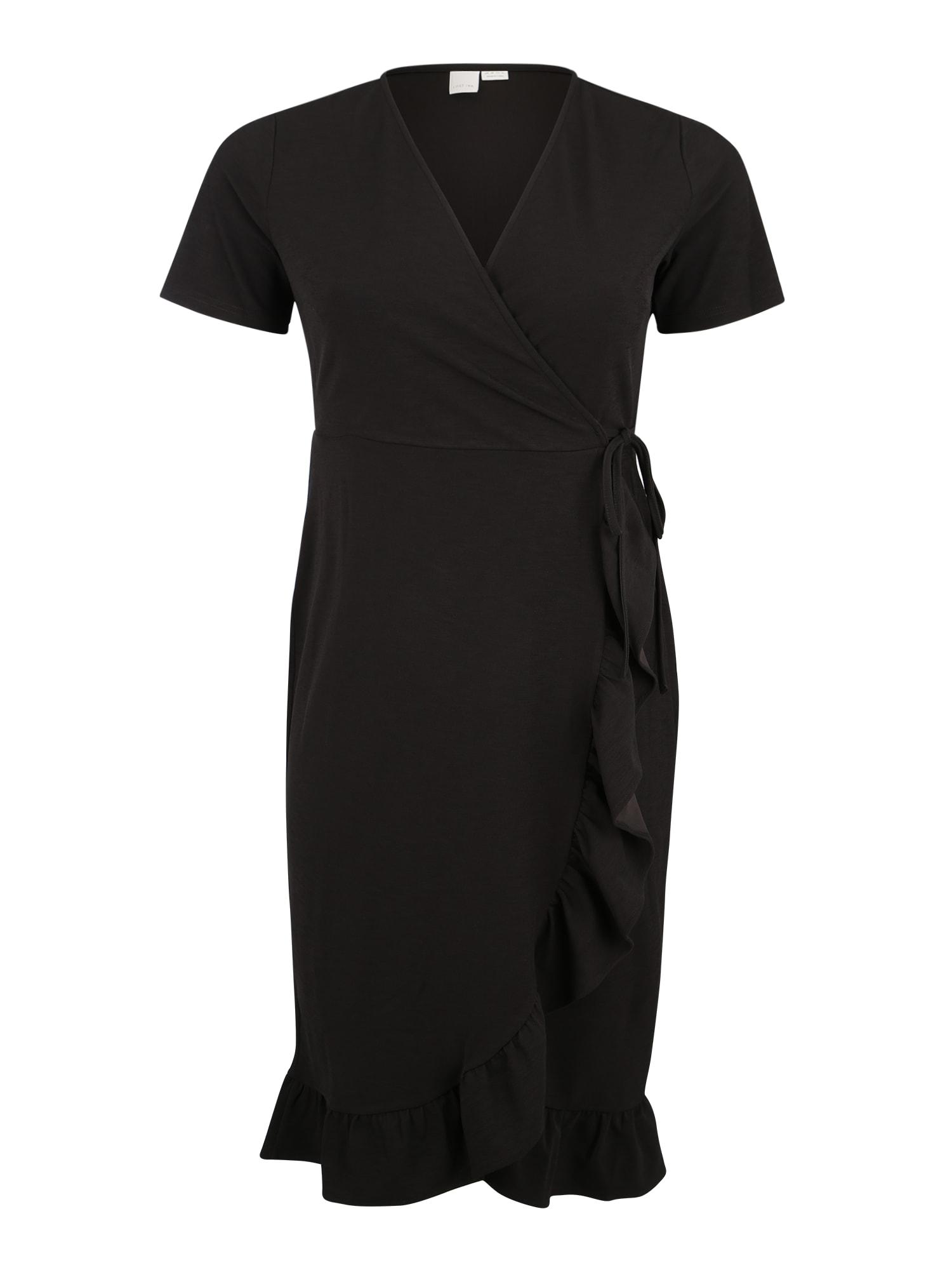 Šaty černá Lost Ink Plus