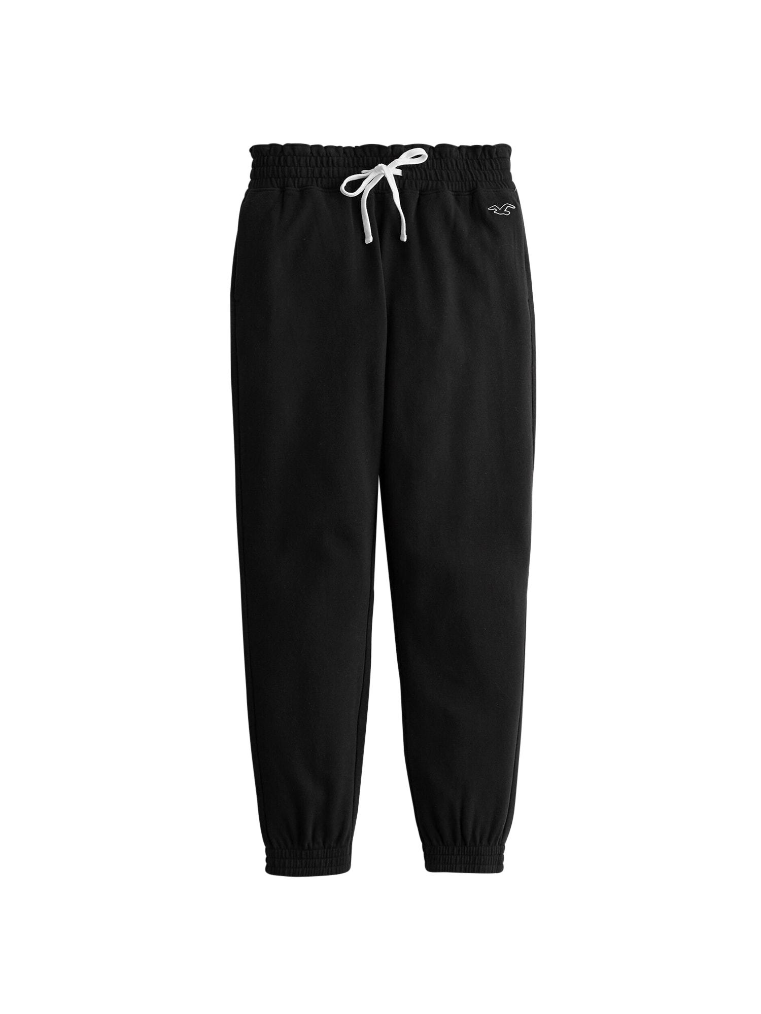 HOLLISTER Kalhoty 'JOGGER 3CC'  černá