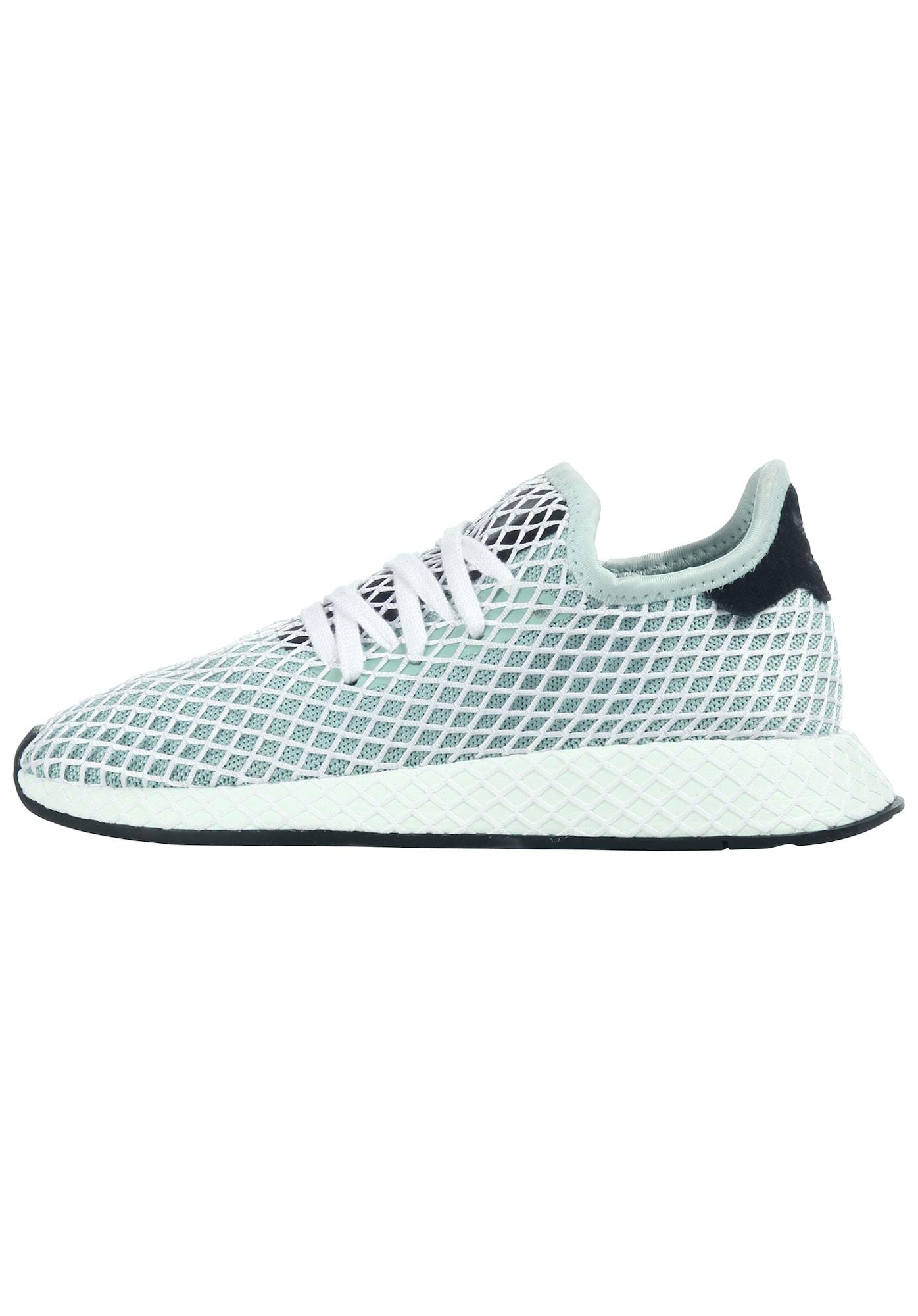 ADIDAS ORIGINALS, Heren Sneakers laag 'Deerupt Runner', lichtblauw
