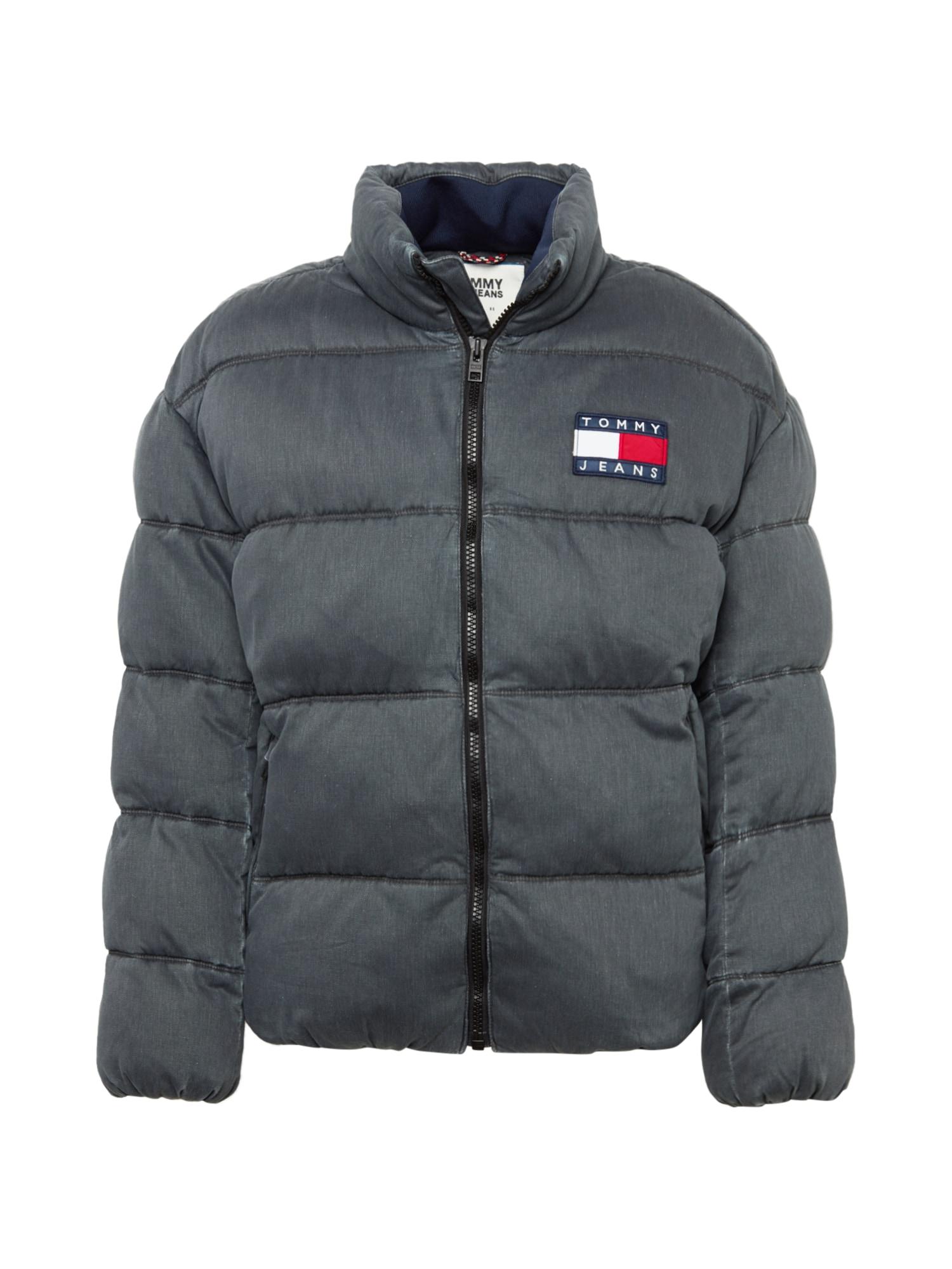 Tommy Jeans Zimní bunda 'WASHED PADDED'  černá