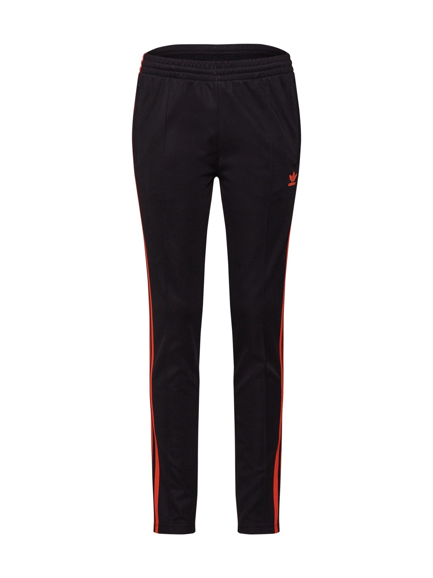 Kalhoty SST TRACK PANTS oranžová černá ADIDAS ORIGINALS