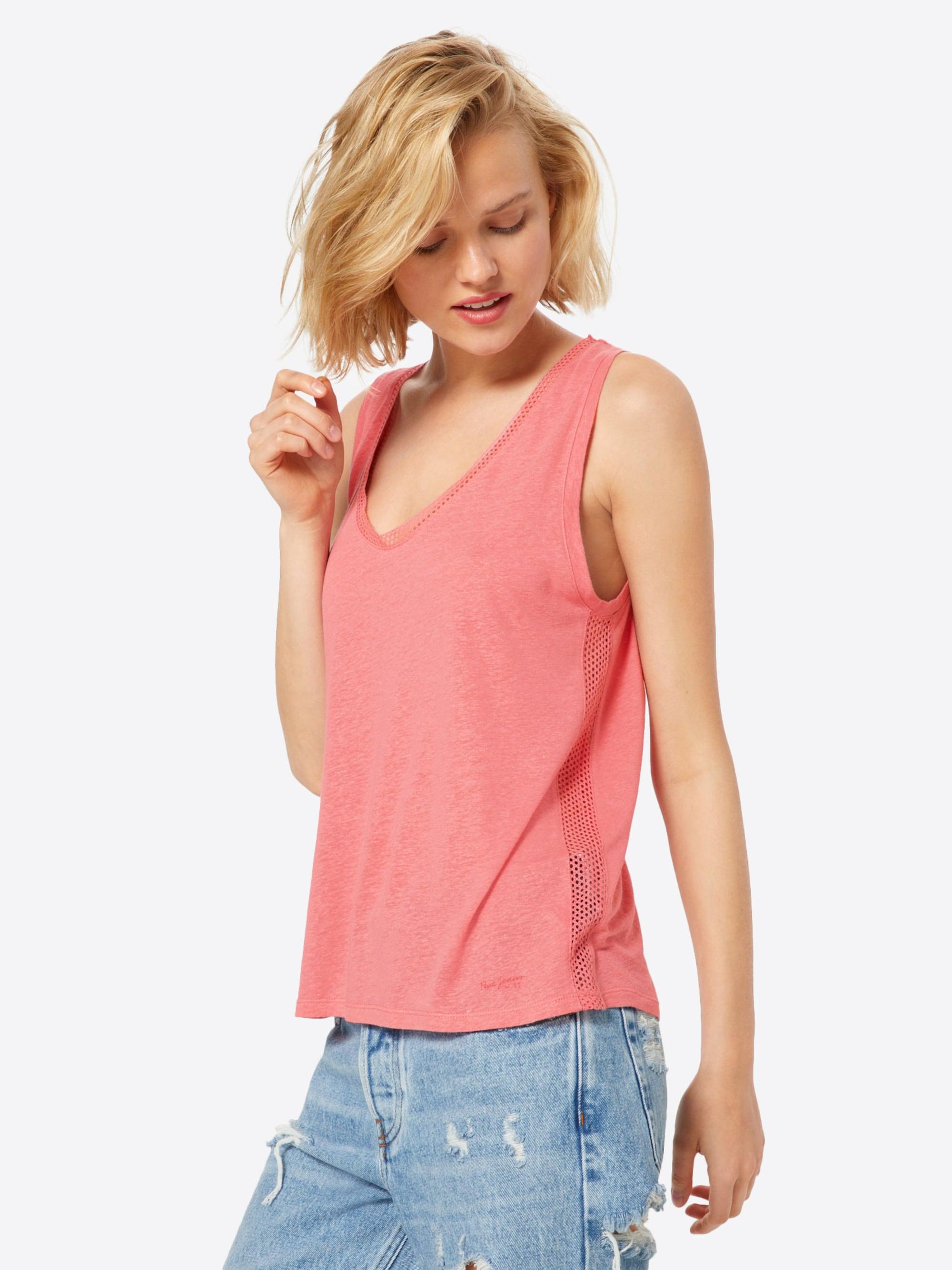 Pepe Jeans Koszulka 'Vicky'  różowy pudrowy