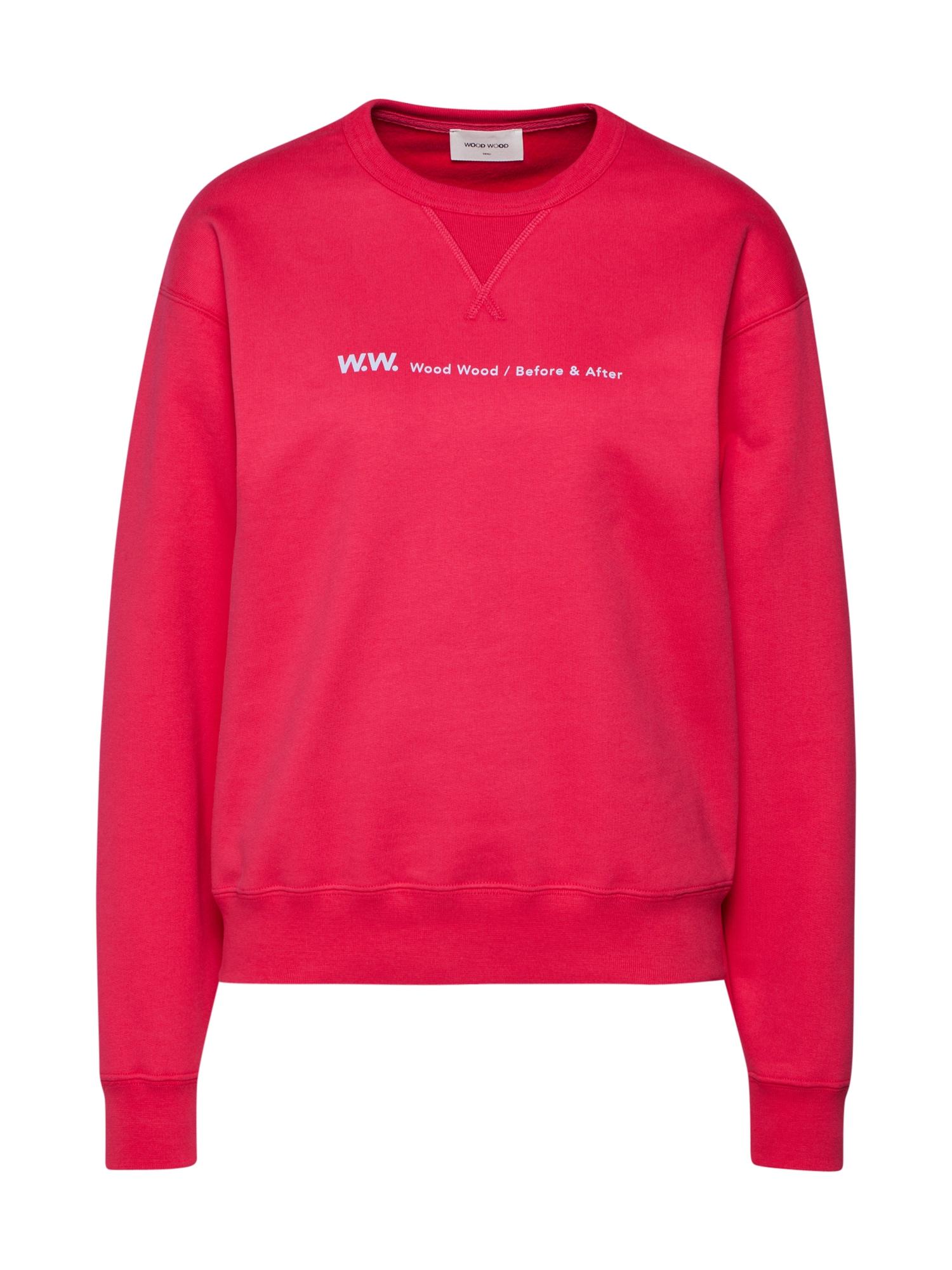 WOOD WOOD, Dames Sweatshirt 'FLORA', framboos