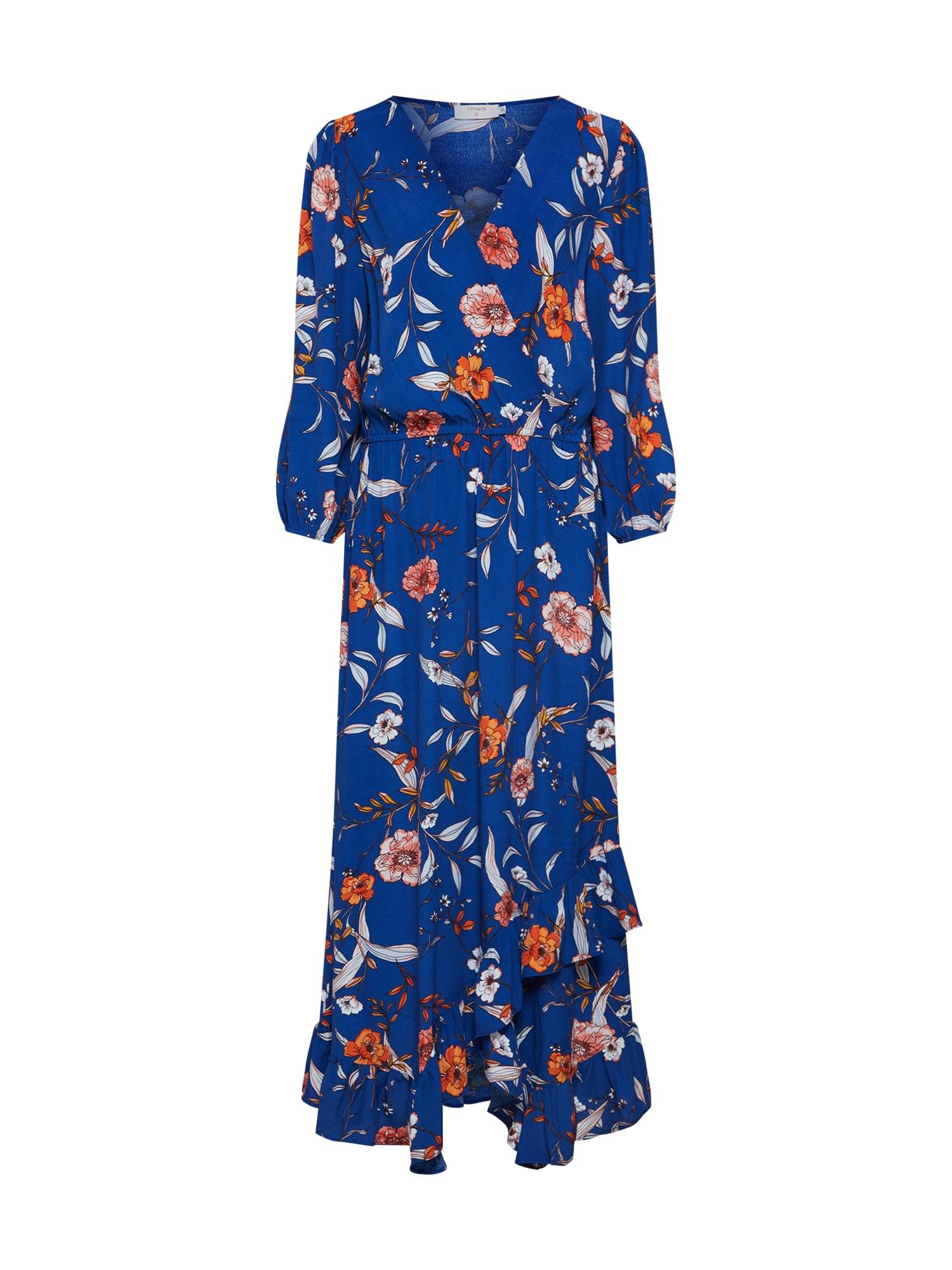Letní šaty Ally tmavě modrá mix barev Cream