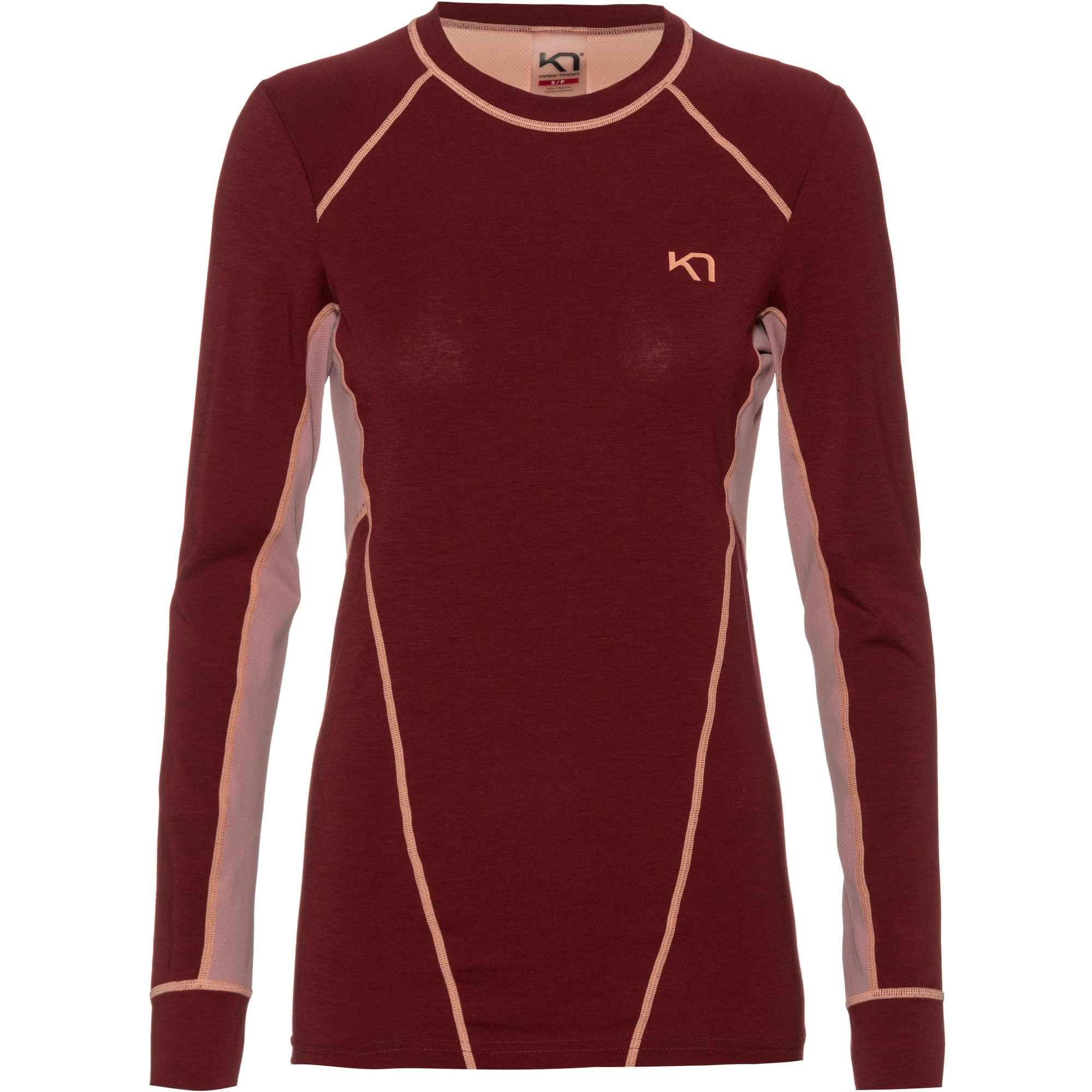 Laufshirt 'Svala' | Sportbekleidung > Sportshirts > Laufshirts | Weinrot | Kari Traa