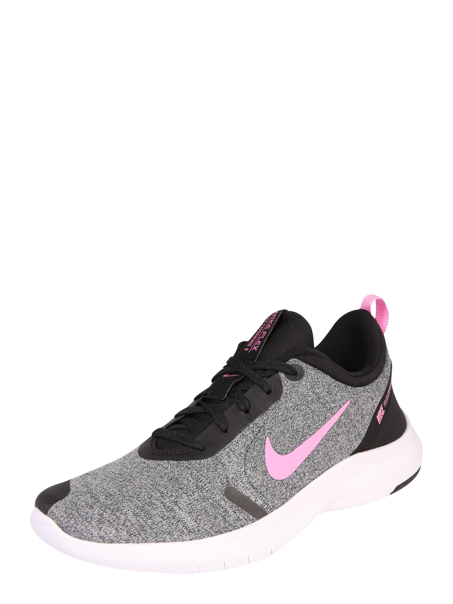 Sportovní boty Nike Flex Experience RN 8 šedá pink černá NIKE