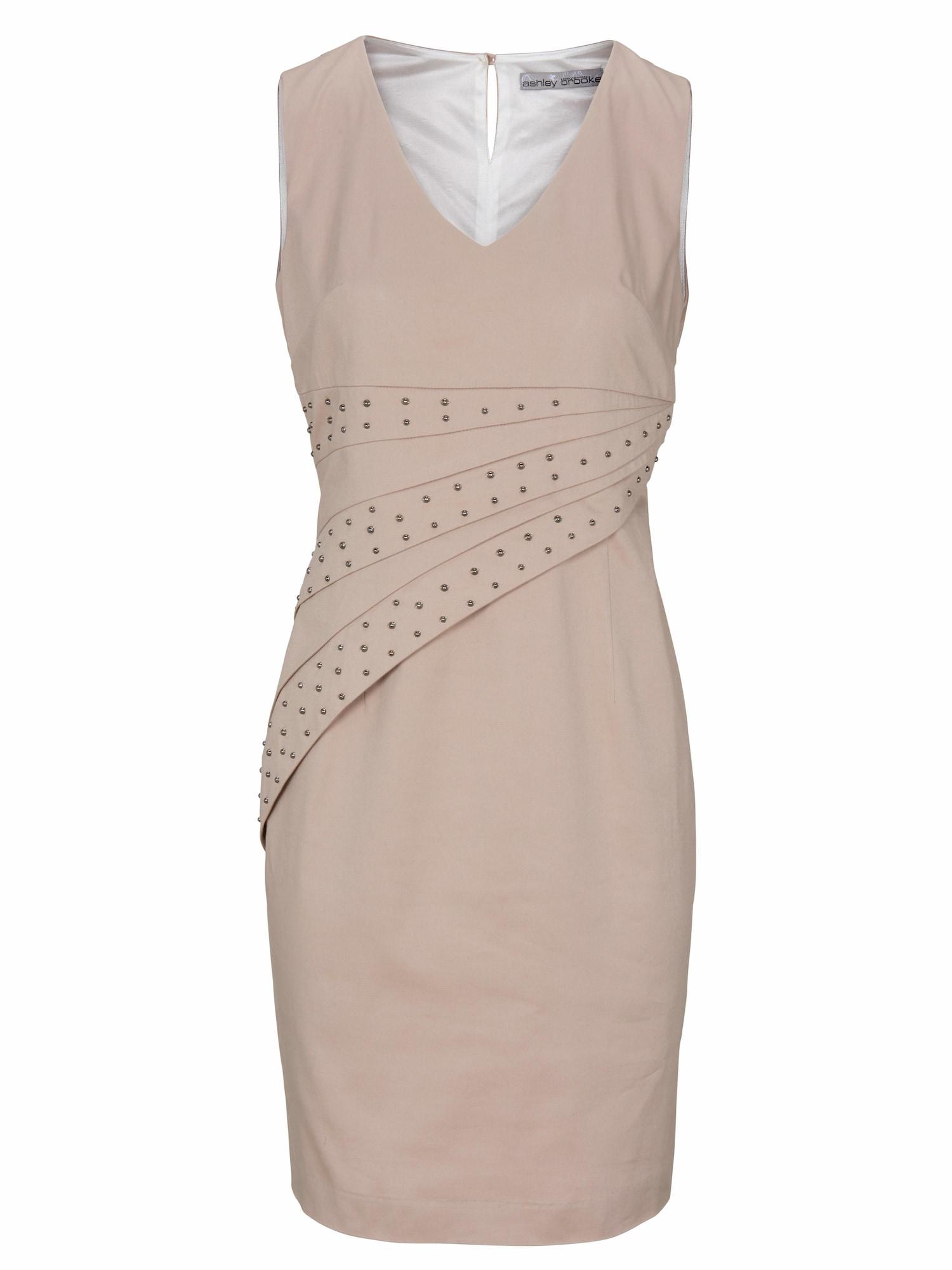 Pouzdrové šaty béžová Heine