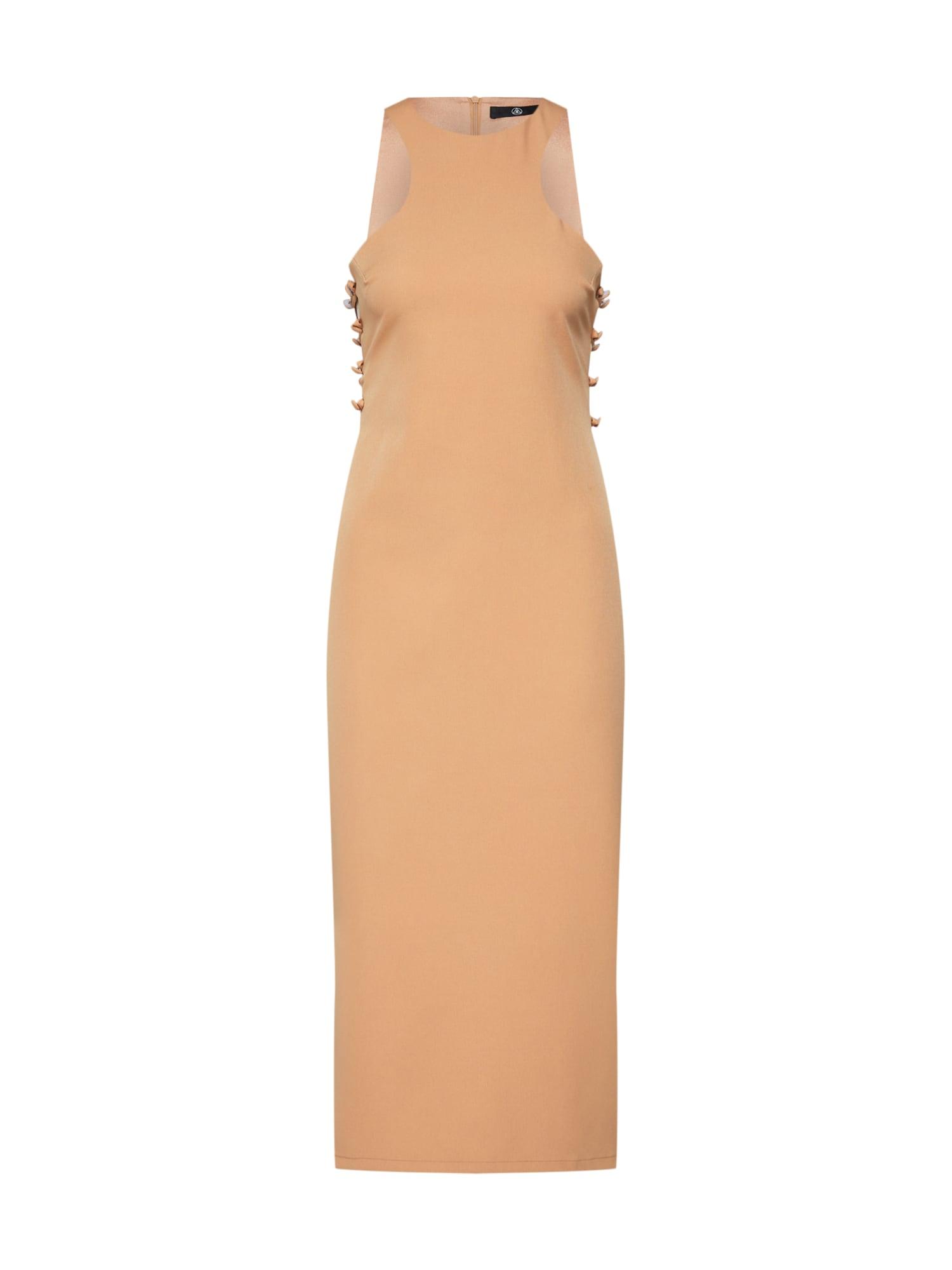 Missguided Sukienka koktajlowa  piaskowy