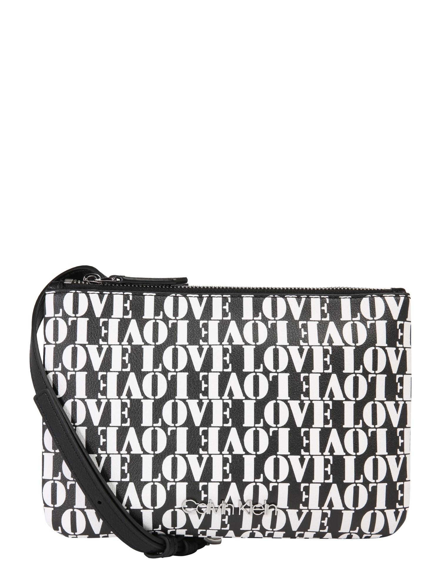 Taška přes rameno CK MUST CROSSOVER LOVE mix barev Calvin Klein