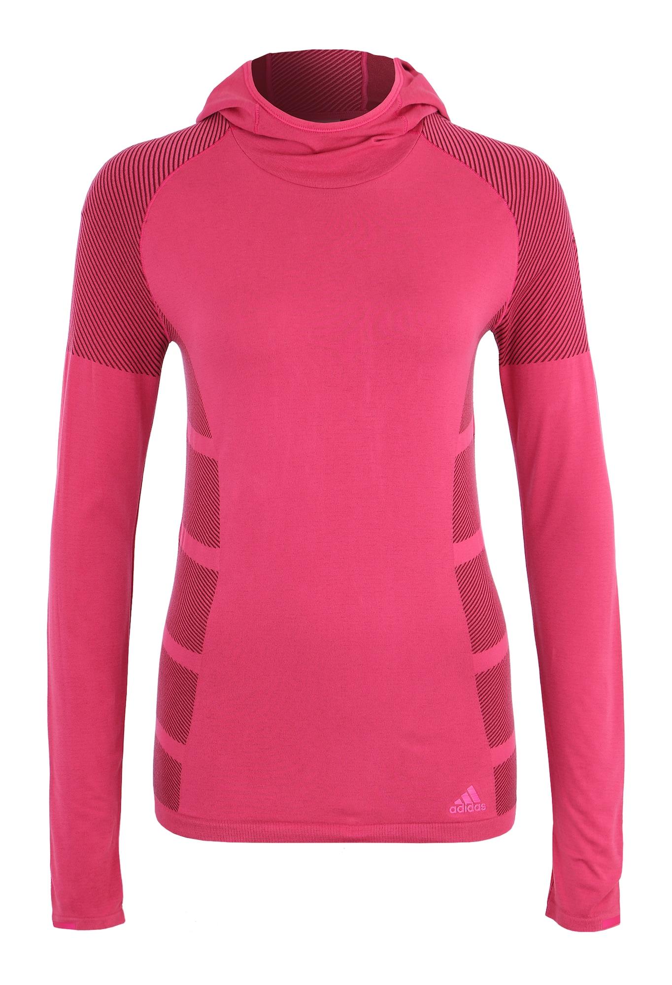 Funkční tričko ULTRA TEE LGT W pink ADIDAS PERFORMANCE