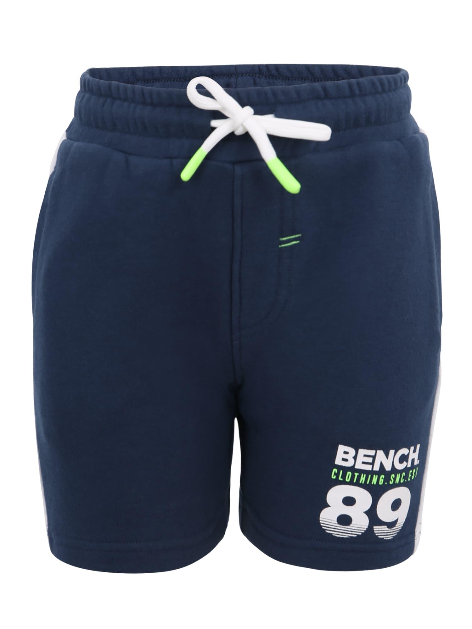 Kalhoty  námořnická modř  bílá BENCH