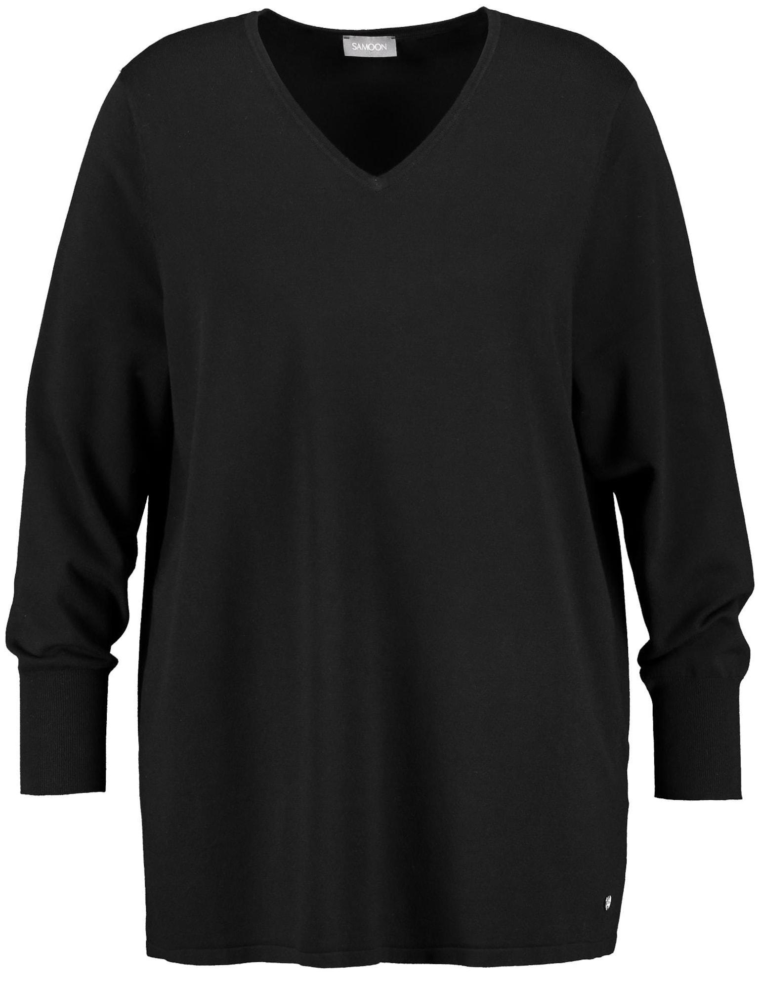 Pullover | Bekleidung > Pullover > Sonstige Pullover | Schwarz | SAMOON