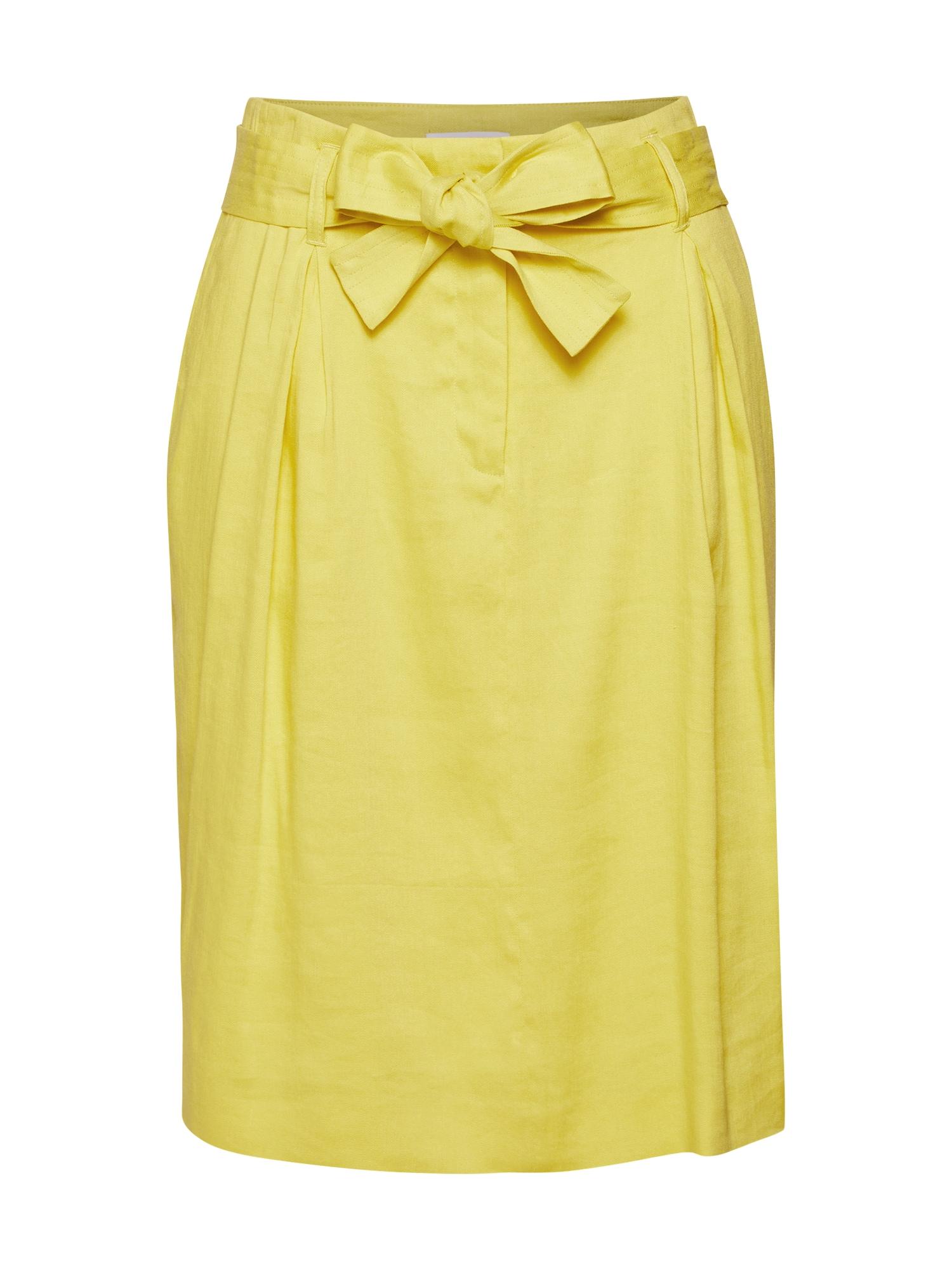 Sukně R018S žlutá RENÉ LEZARD