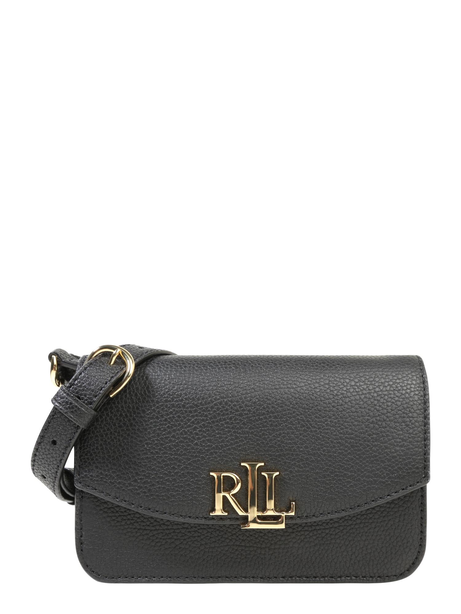 Taška přes rameno černá Lauren Ralph Lauren
