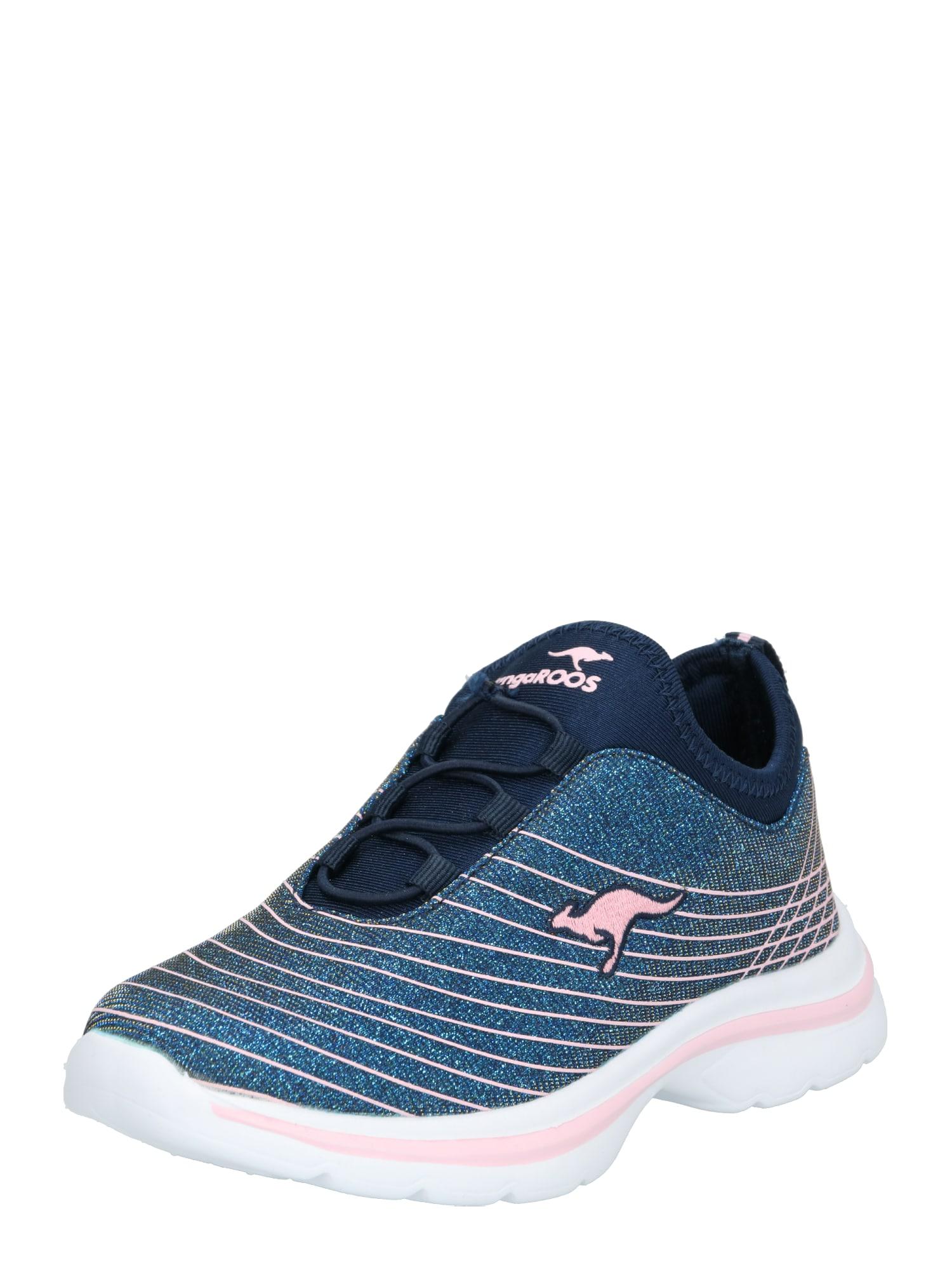 Tenisky Kangaslip modrá růžová KangaROOS