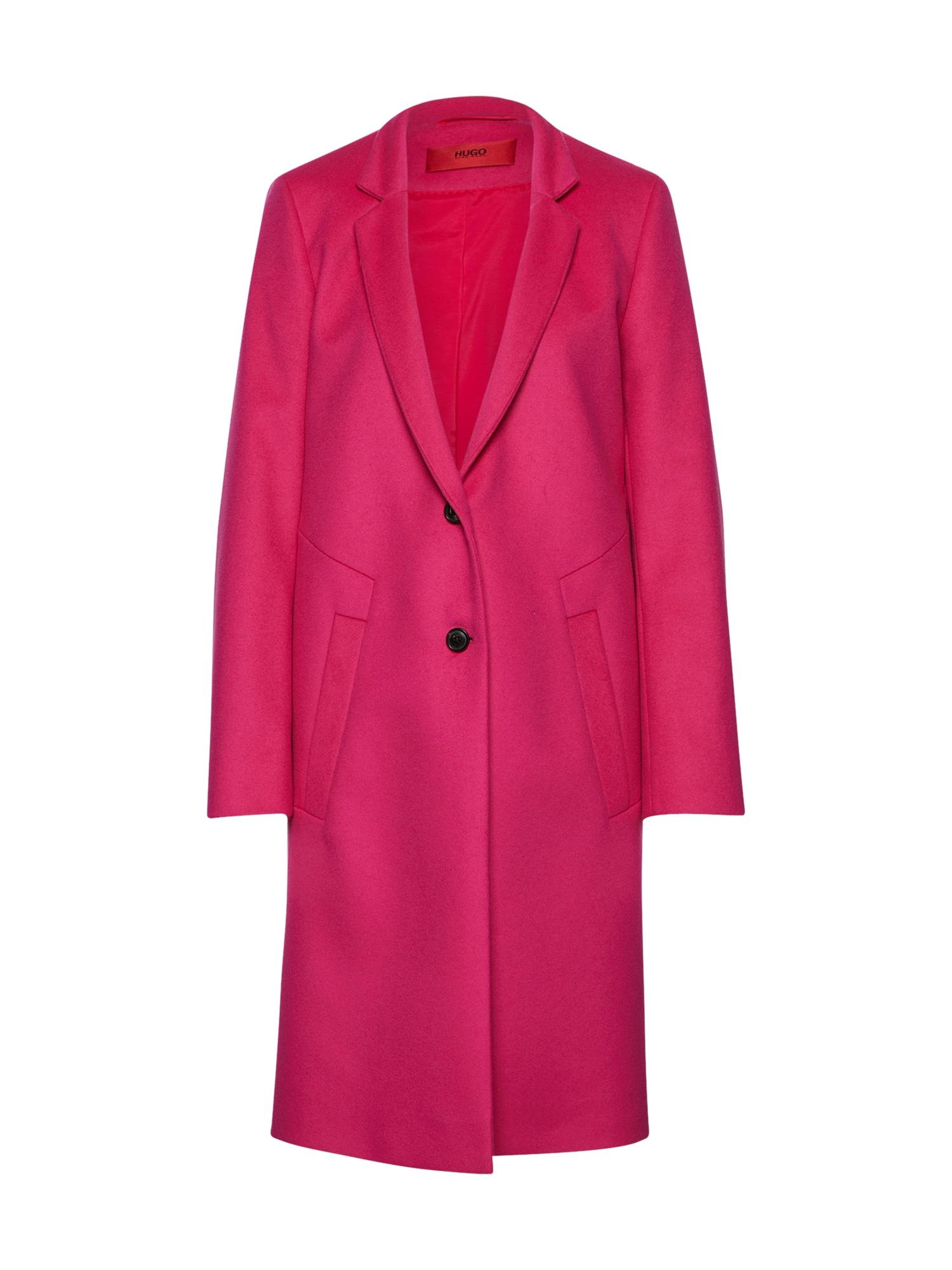 Zimní kabát Magrete pink HUGO