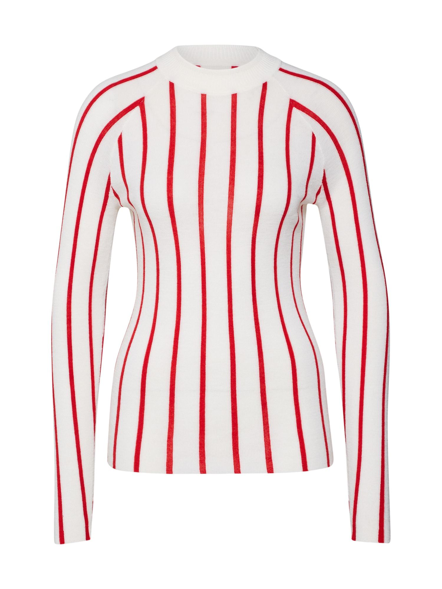 Svetr červená bílá Calvin Klein