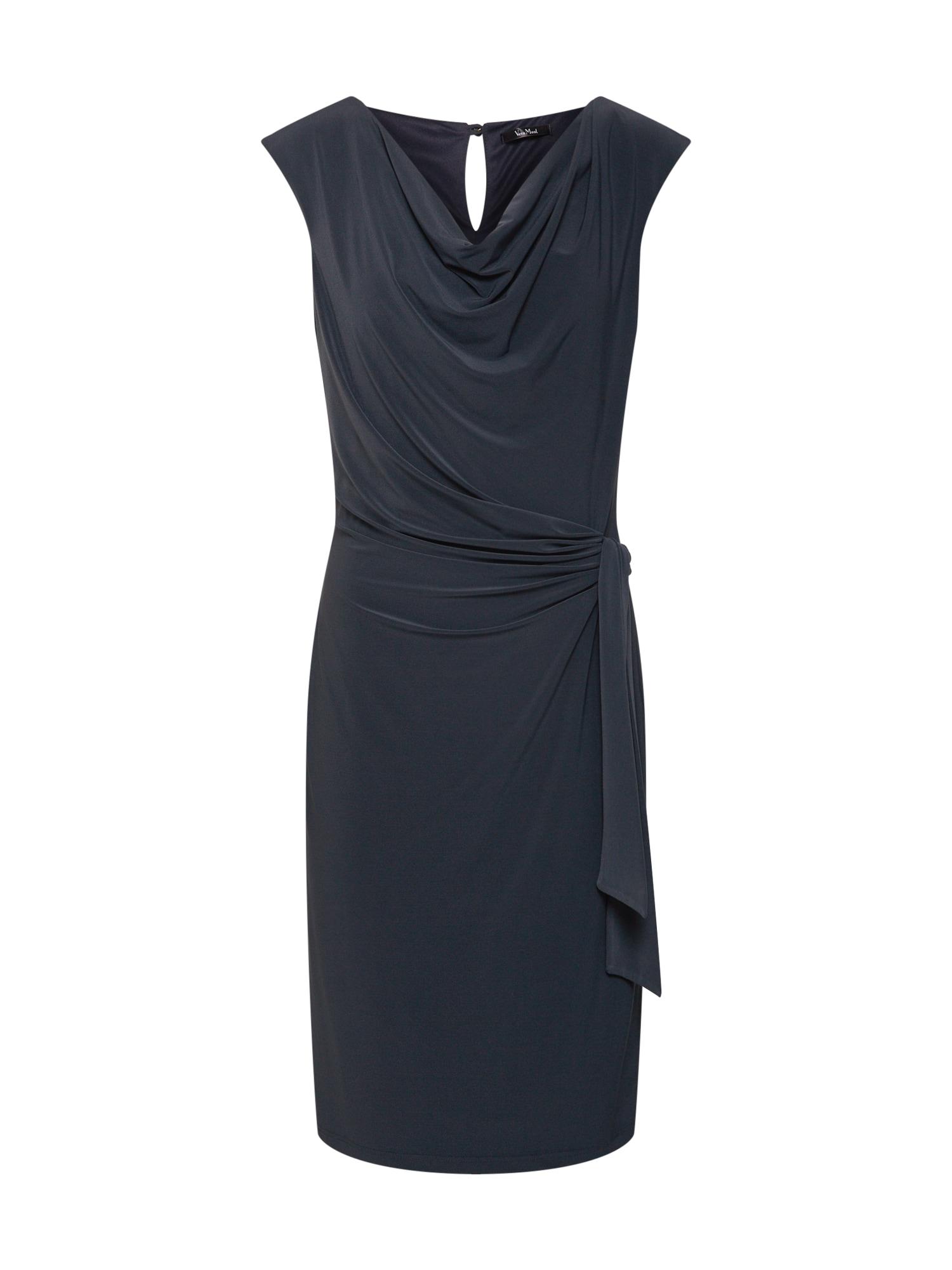 Pouzdrové šaty tmavě modrá Vera Mont